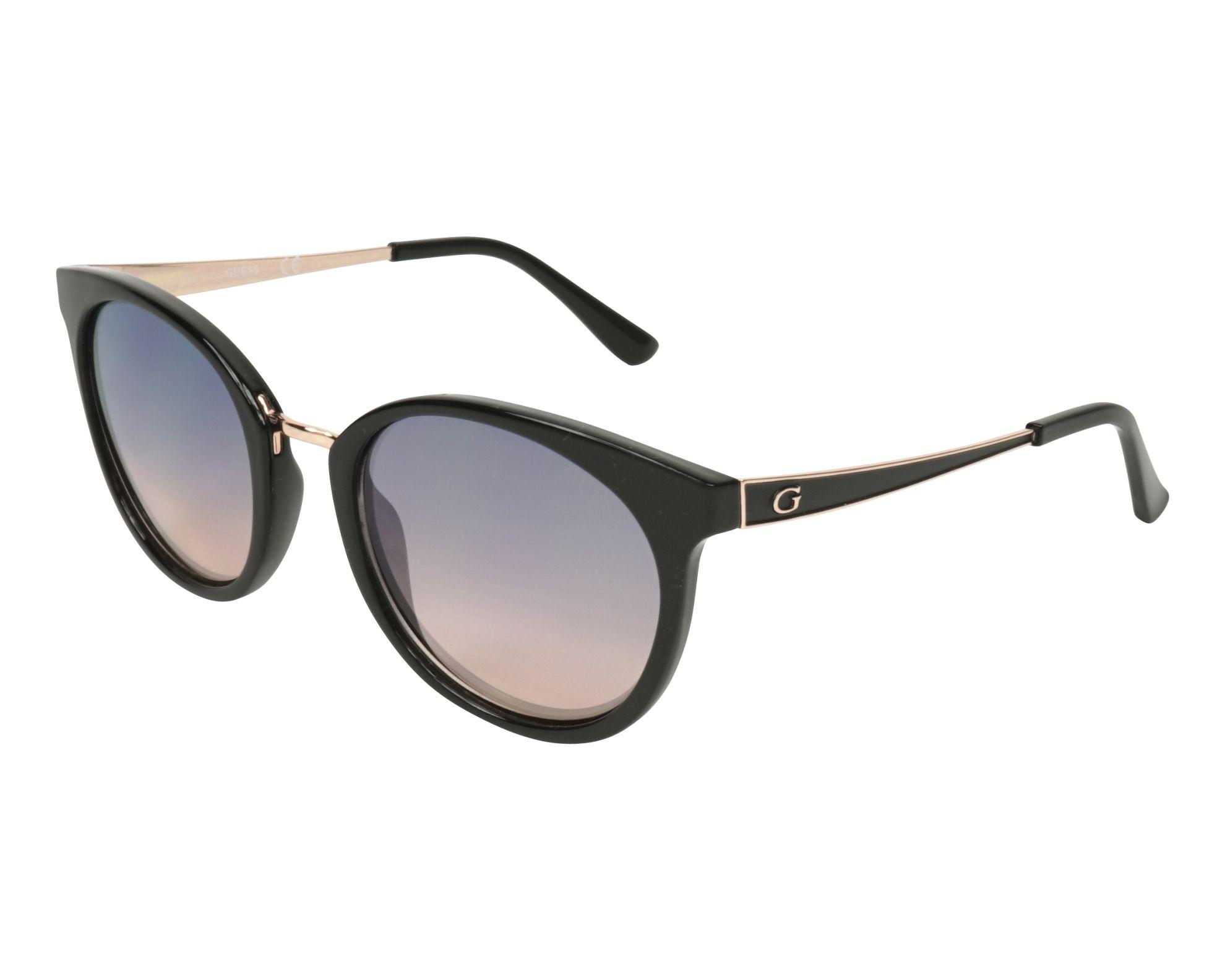 16330c23574 ... Sunglasses Guess GU-7459-S 05Z 52-20 Black Gold Copper profile view ...