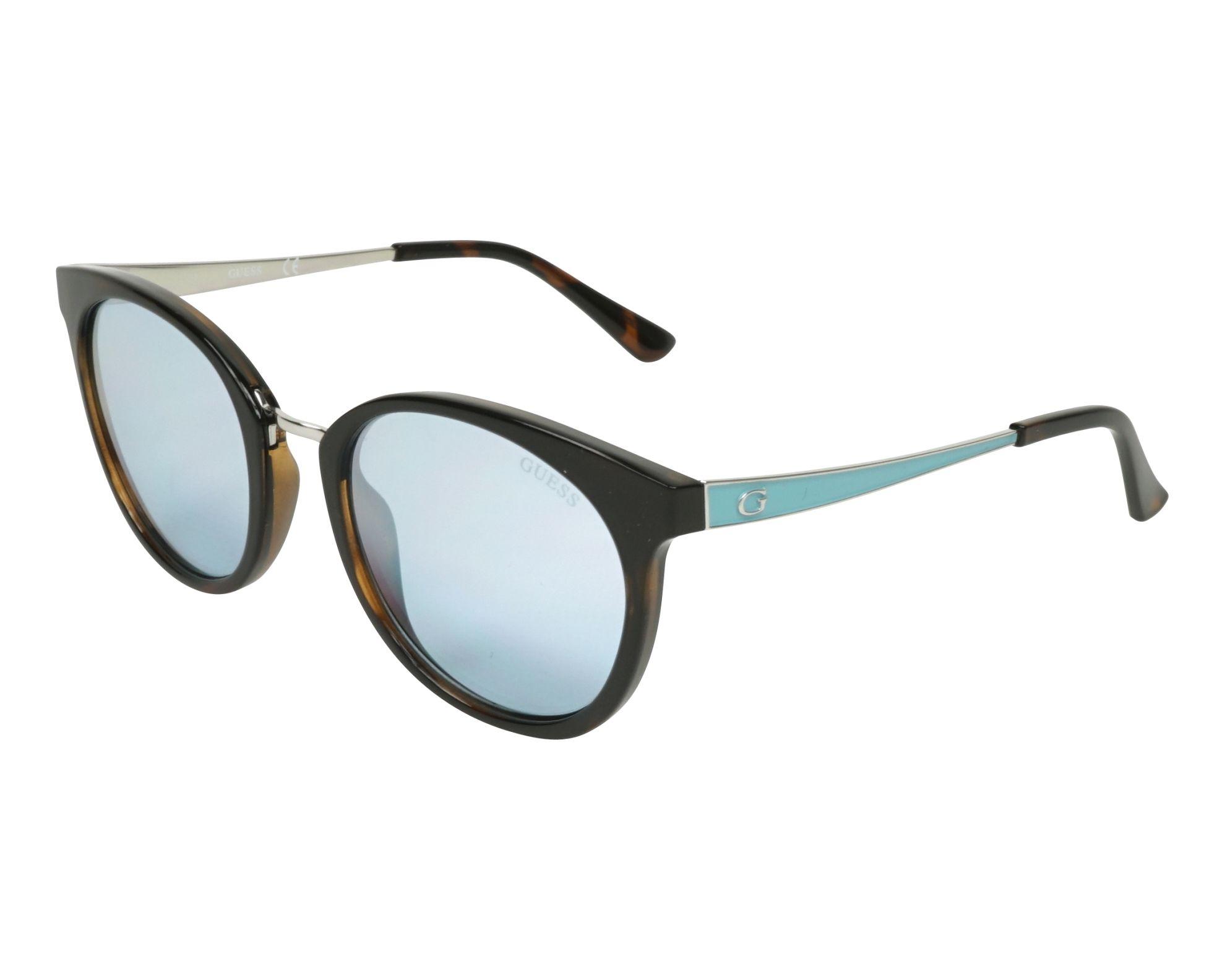 a3c0130abd3 ... Sunglasses Guess GU-7459-S 52C 52-20 Brown Silver profile view sale ...