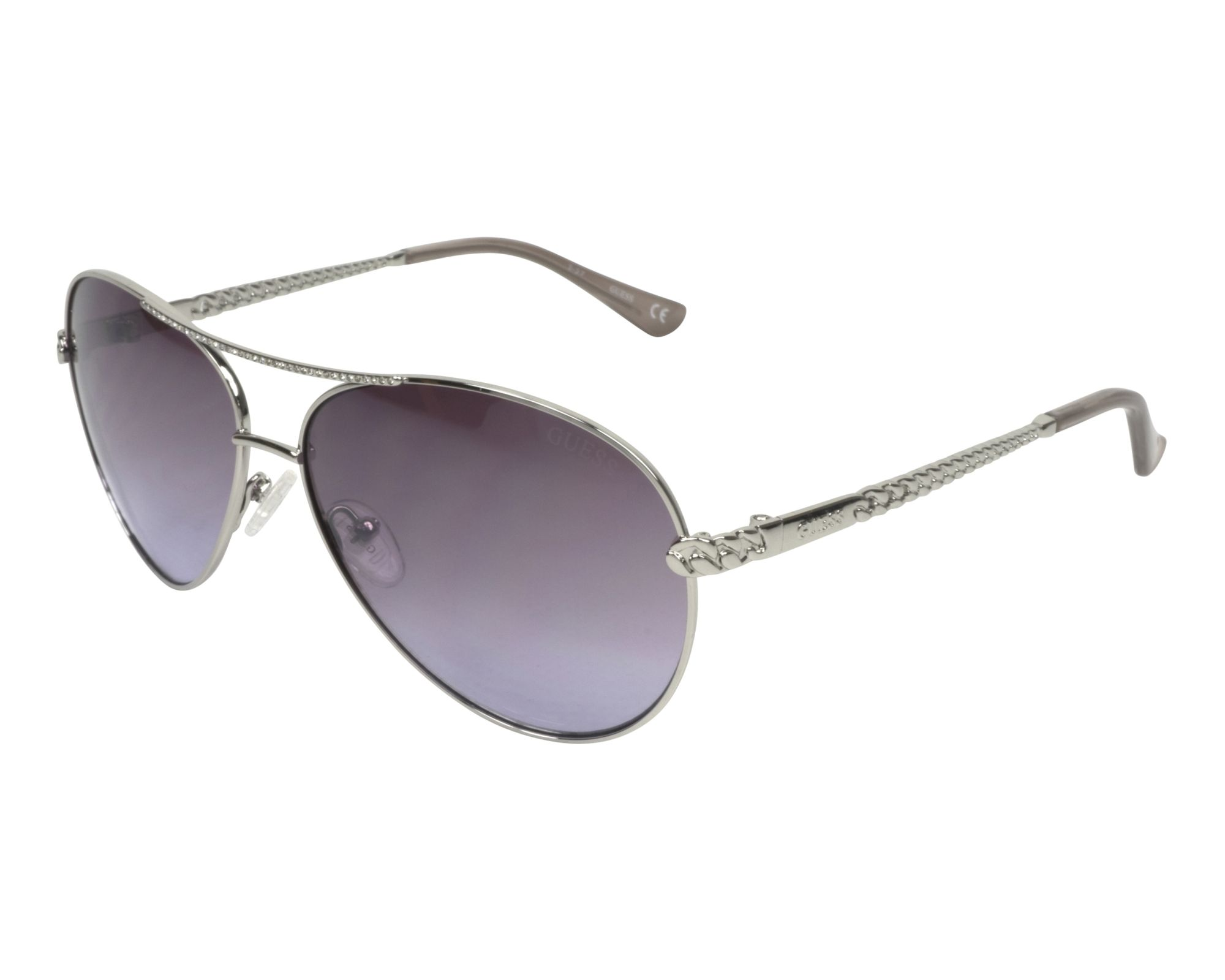 Sunglasses Guess GU-7470-S 10Z 60-13 Silver profile view f99af475e85c