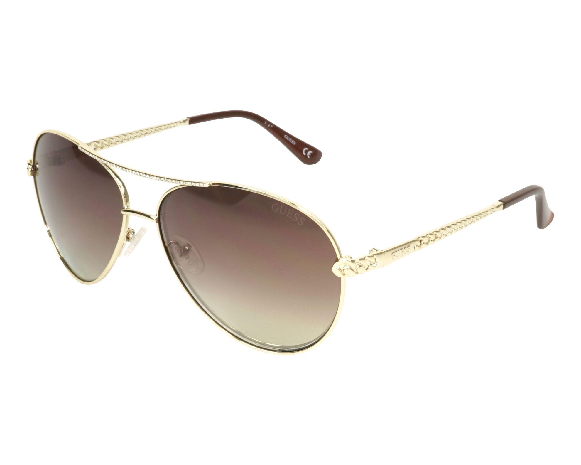 Sunglasses Guess GU-7470-S 32F 60-13 Gold profile view de1872b669d7