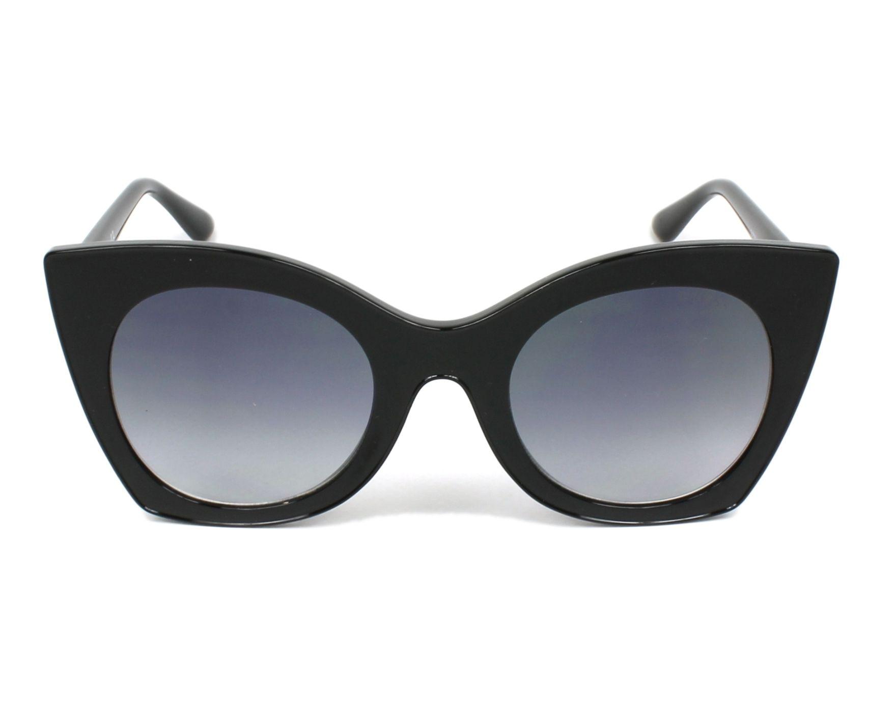 3dc2cdc981465 Sunglasses Guess GU-7525 01B 51-23 Black front view
