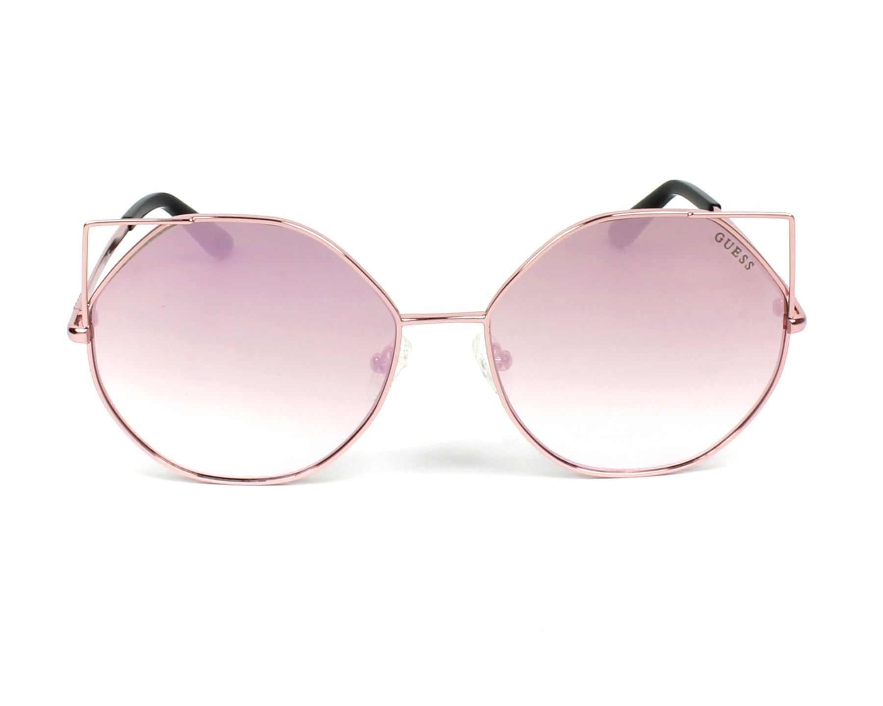 Sunglasses Guess GU-7527 28Z 58-16 Rose gold front view