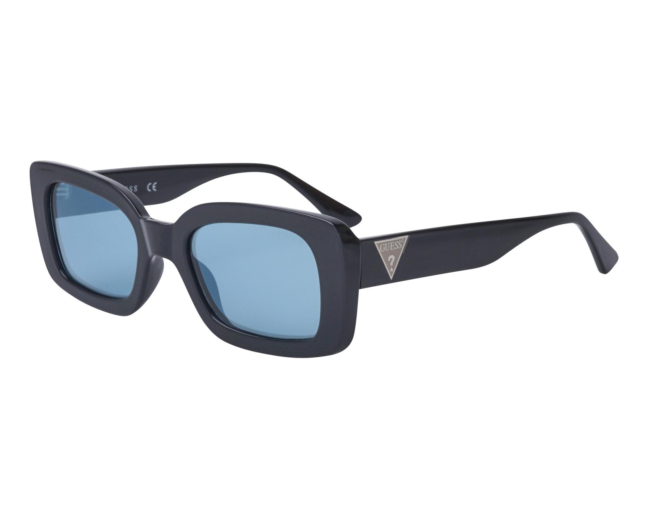 color negro Guess GU7590 01X Gafas