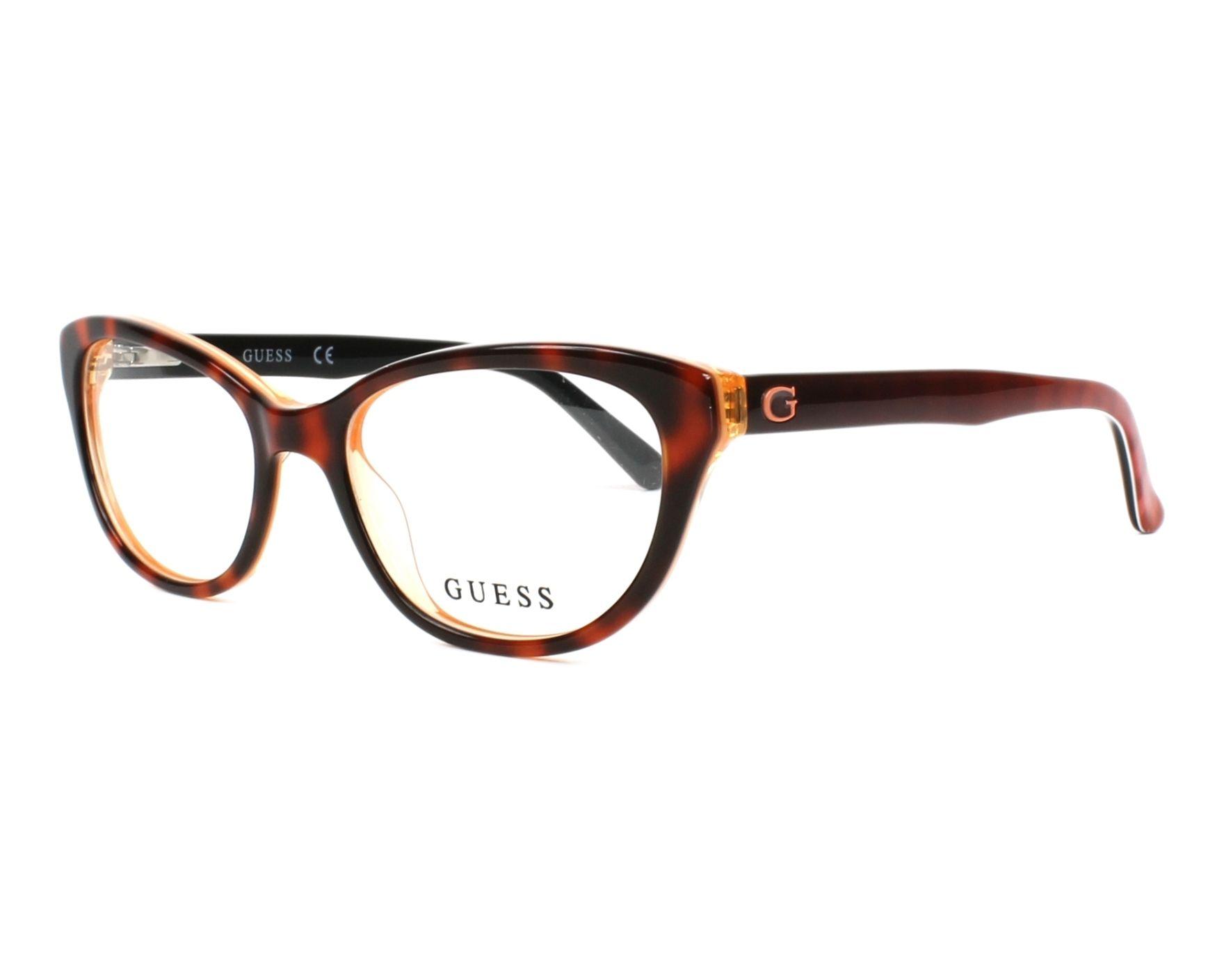 Guess Eyeglasses Havana GU-9169 056 - Visionet US