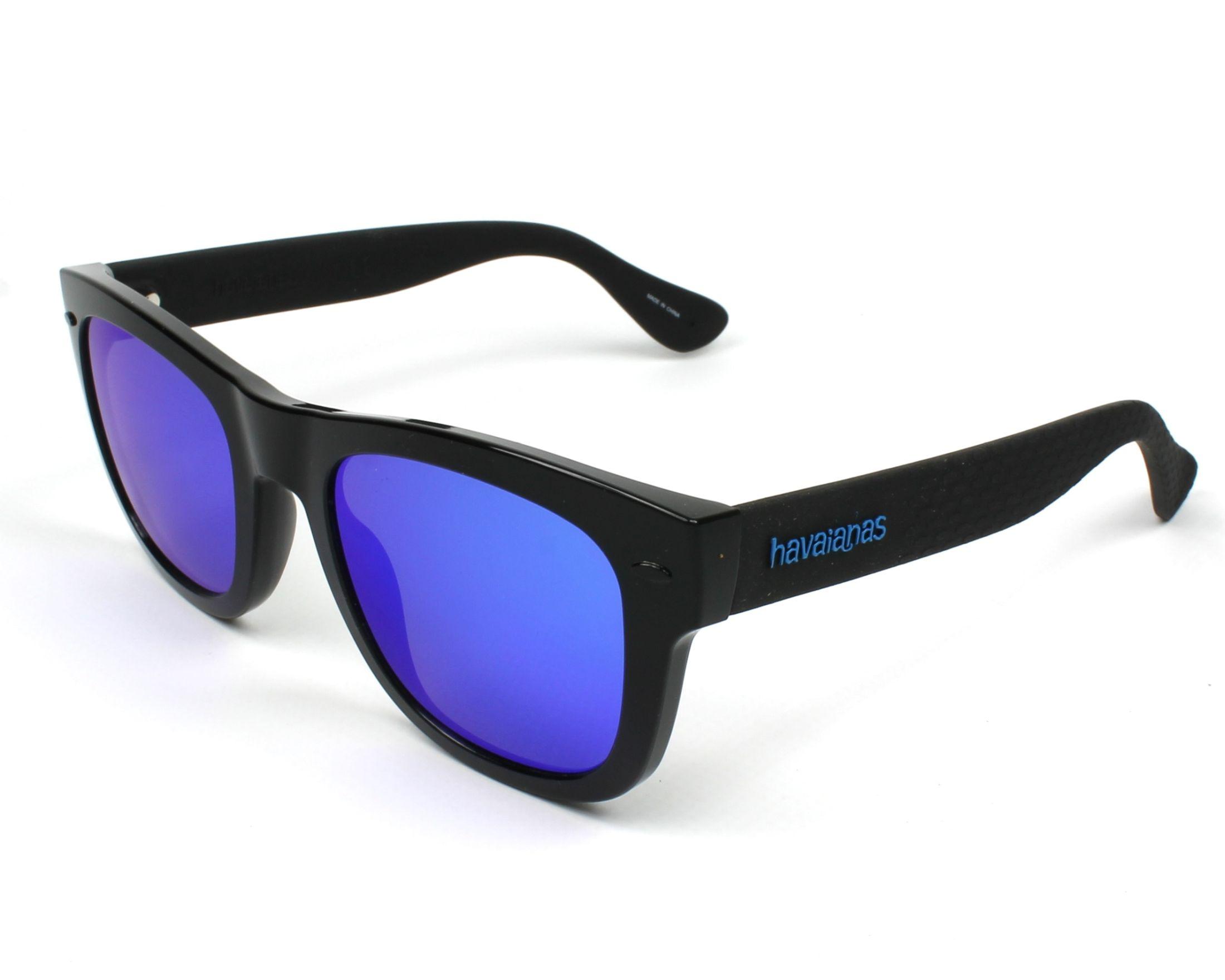 d1378f261f140 Sunglasses Havaianas PARATY-L QFU Z0 52-22 Black Black profile view
