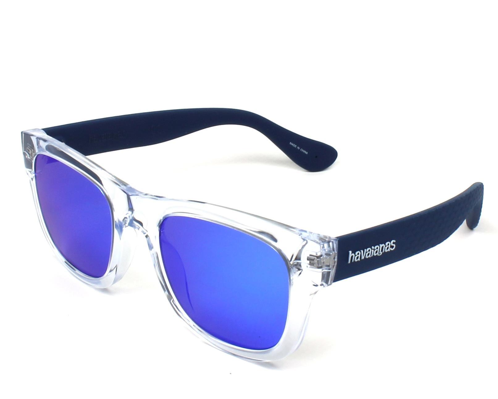 296ac05c9c3 Sunglasses Havaianas PARATY-M QM4 Z0 50-21 Crystal Blue profile view