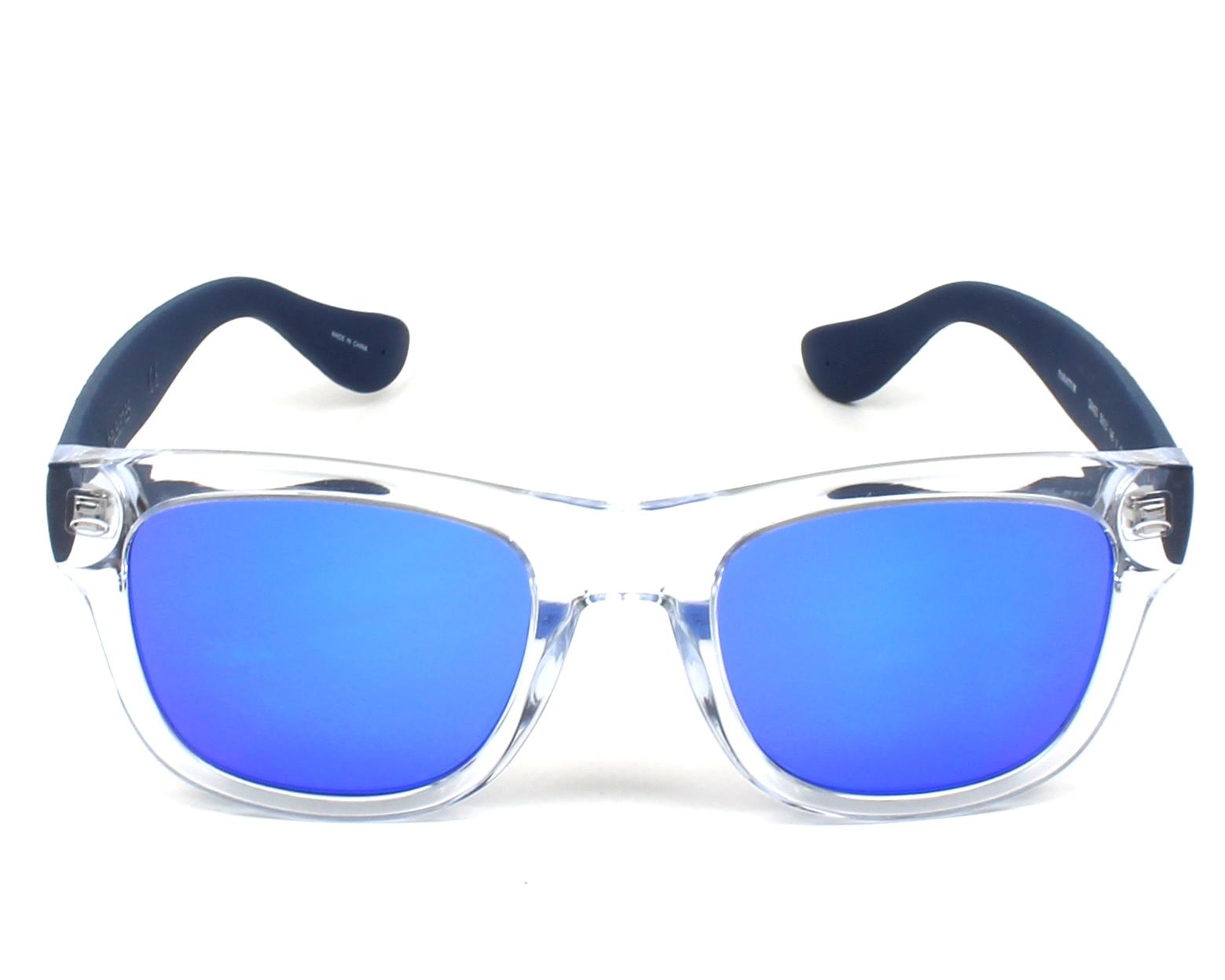 92715e47f97 Sunglasses Havaianas PARATY-M QM4 Z0 50-21 Crystal Blue front view