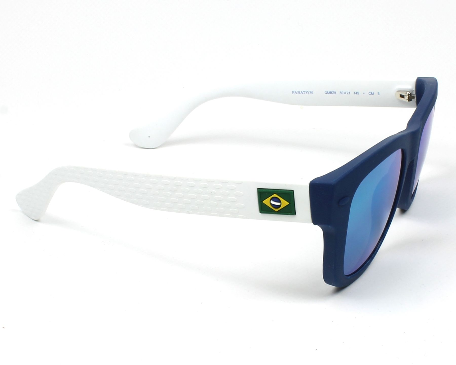 29c0aa55527 Sunglasses Havaianas PARATY-S QMB Z9 48-19 Blue White side view