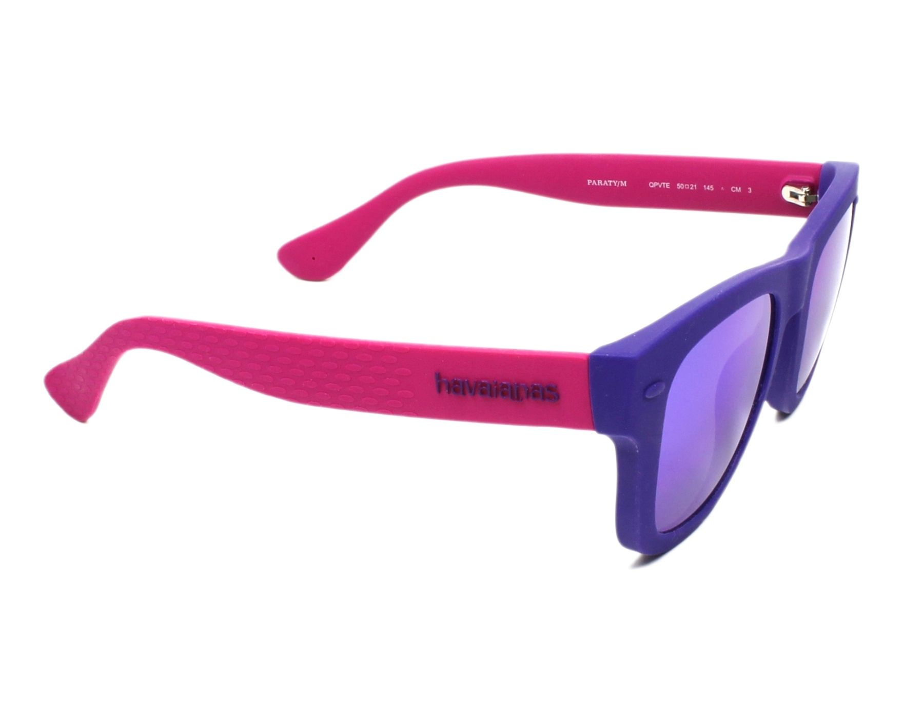 a3e6ff72c6f Sunglasses Havaianas PARATY-M QPV TE 50-21 Purple Fuchsia side view