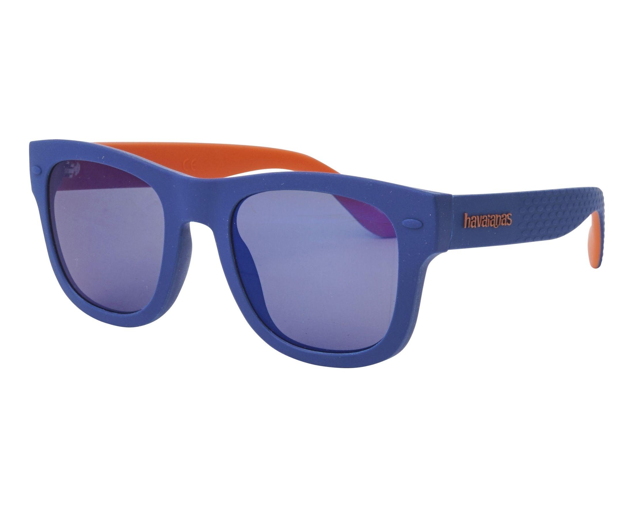 8b4f39901ff Sunglasses Havaianas PARATY-M RTCXT 50-21 Blue Orange profile view