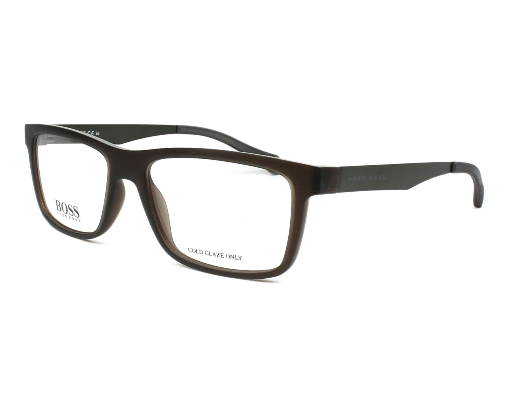 eyeglasses Hugo Boss BOSS-0870 05A 54-17 Brown Gun profile view 49c876164660