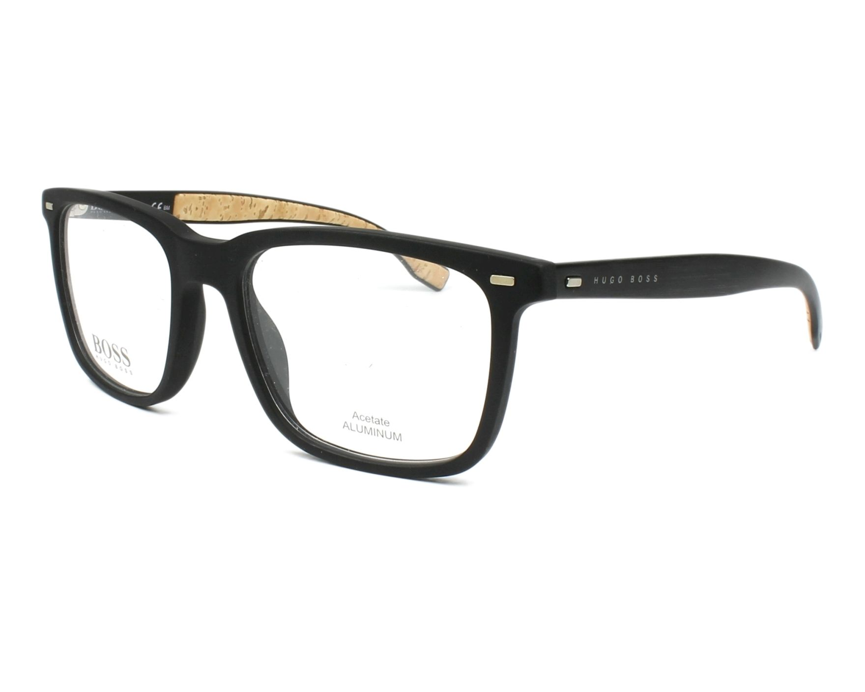 Hugo Boss Eyeglasses Black Boss 0884 0r5 Visionet Us