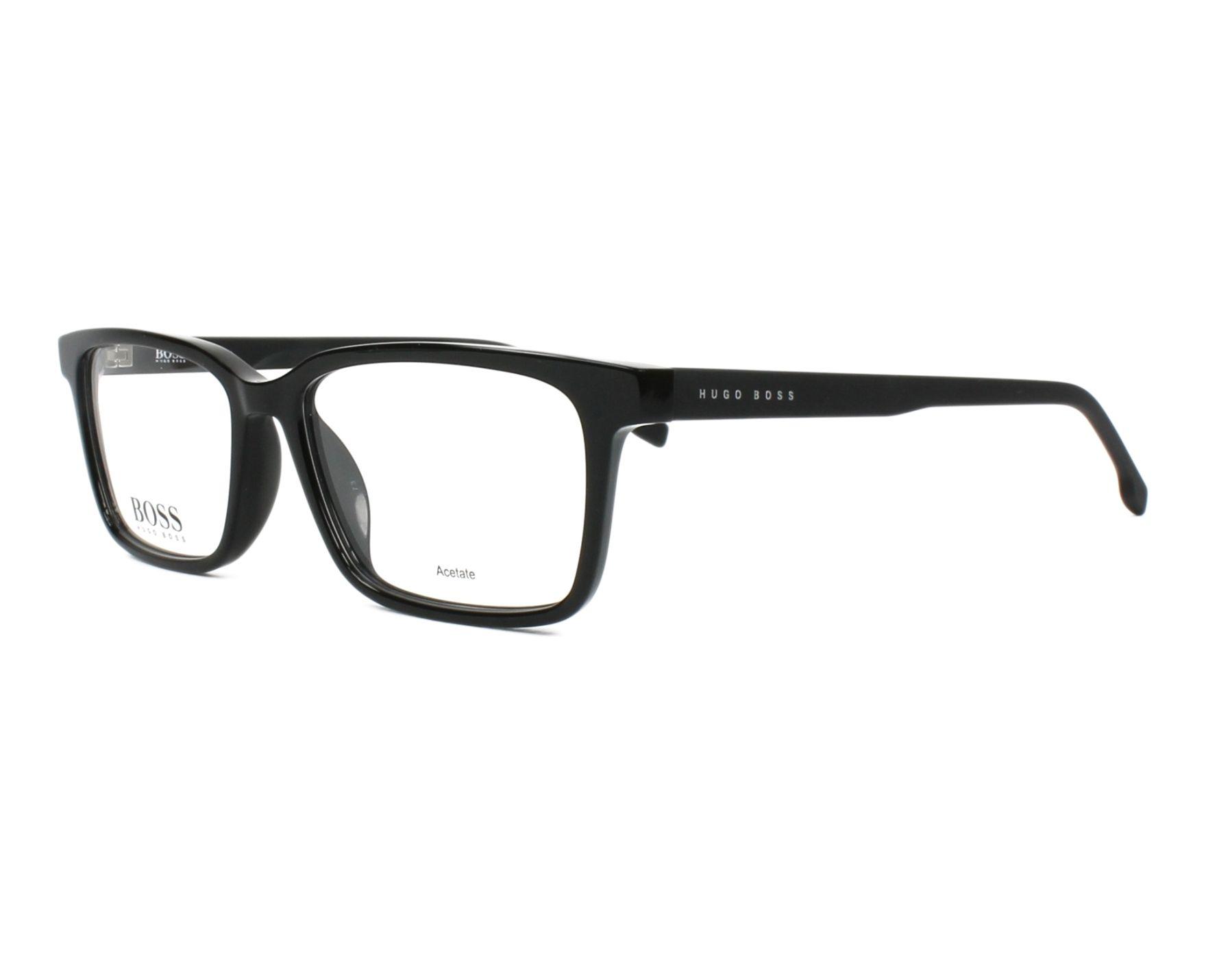 Matt Black Acetate Black BOSS-0924 807 Hugo Boss frame