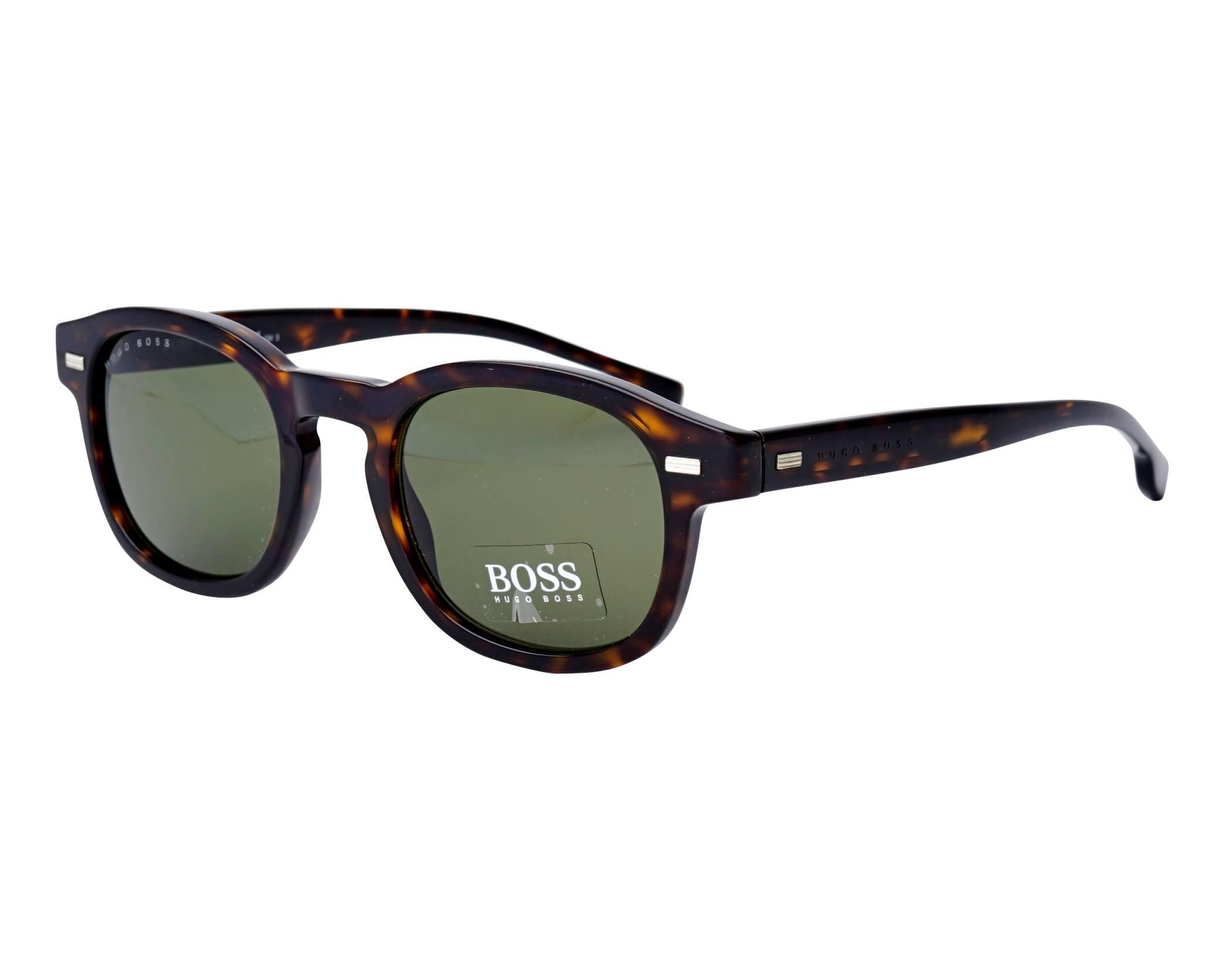 0b910008d1 Sunglasses Hugo Boss BOSS-0999-S 086QT 49-22 Havana profile view