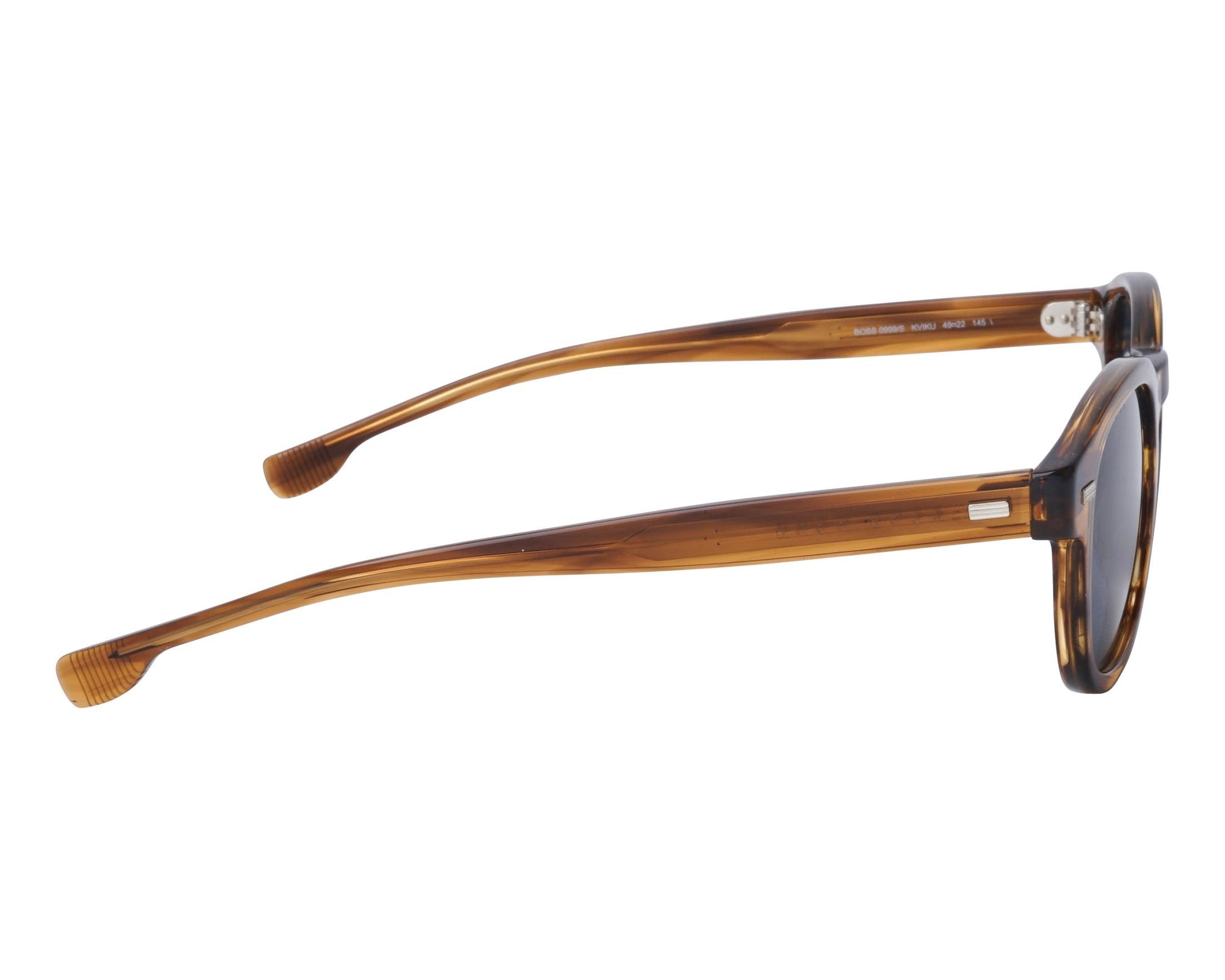 d75563392f Sunglasses Hugo Boss BOSS-0999-S KVIKU 49-22 Brown Brown side view