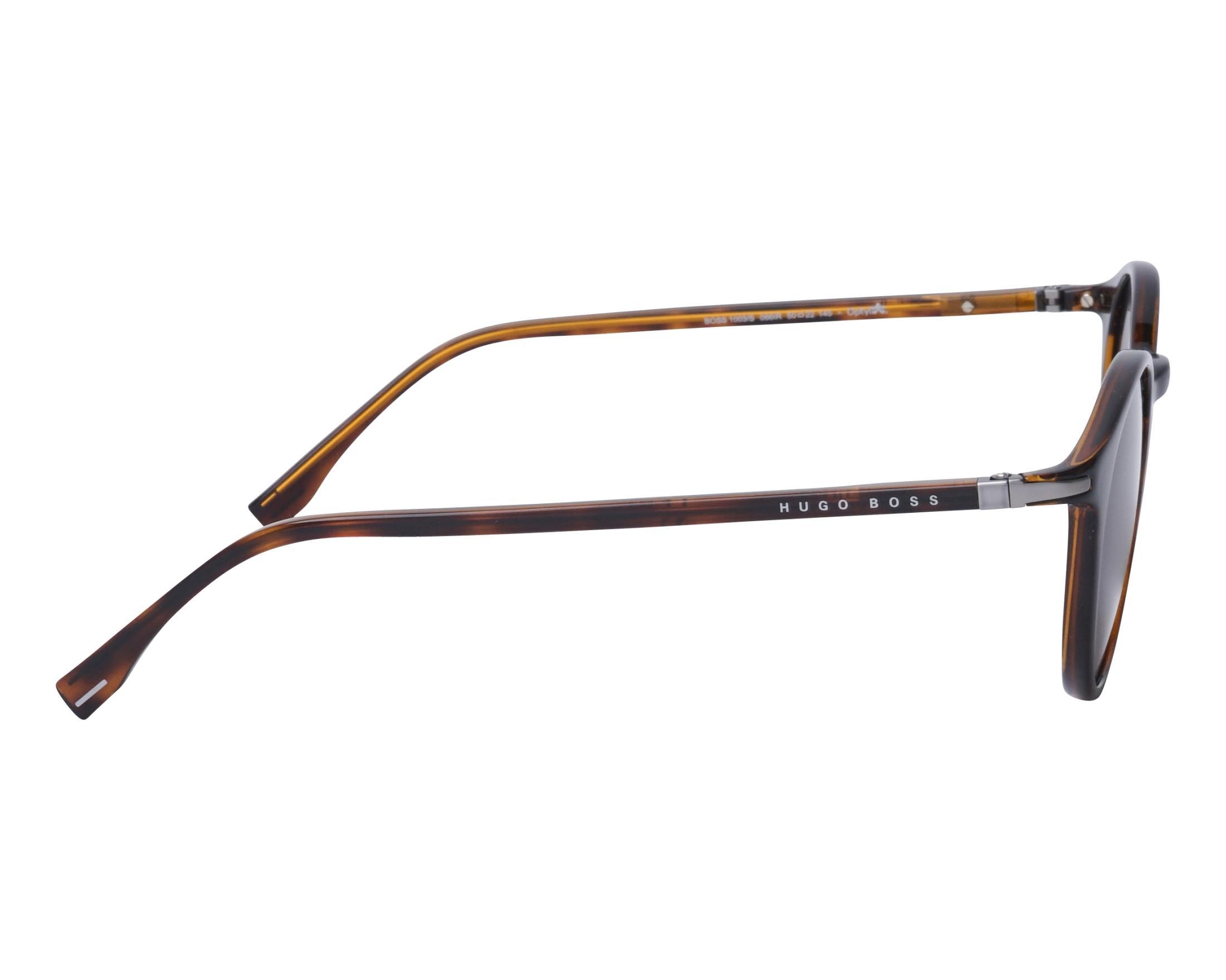 Sunglasses Hugo Boss BOSS-1003-S 086IR 50-22 Havana side view f30e20f7d3