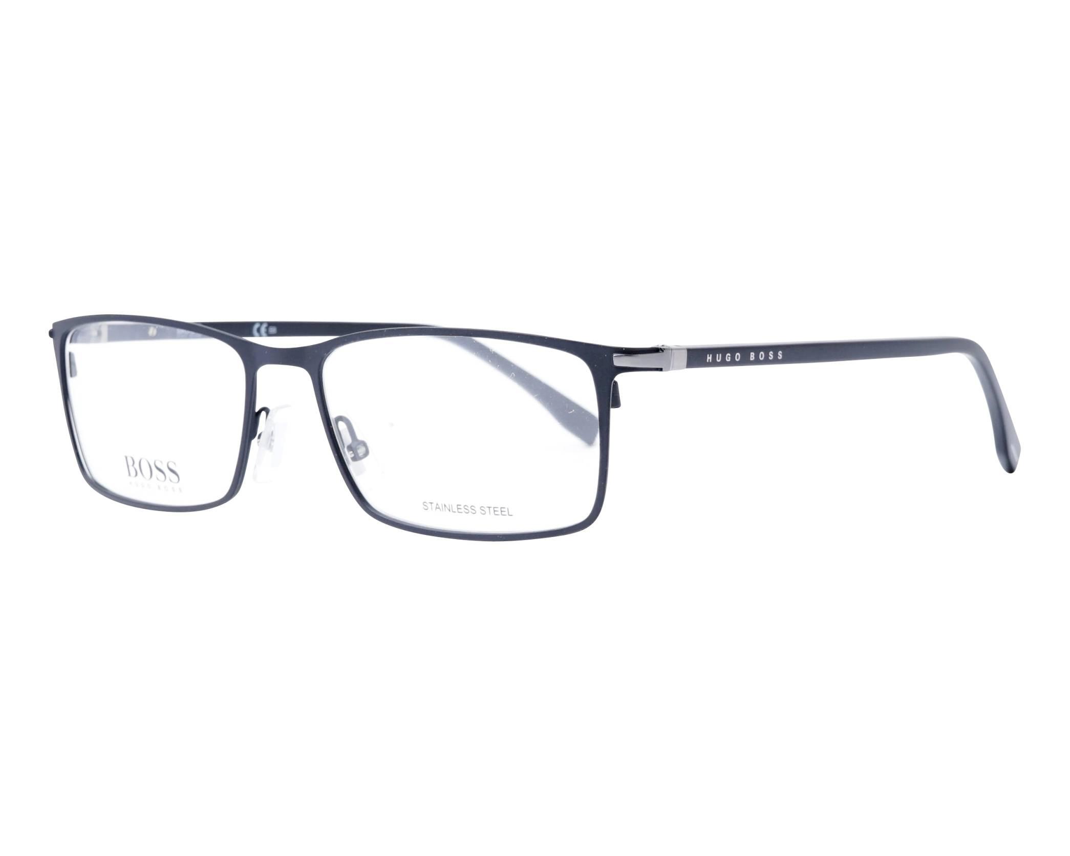 40e627439b32 eyeglasses Hugo Boss BOSS-1006 003 57-17 Black profile view