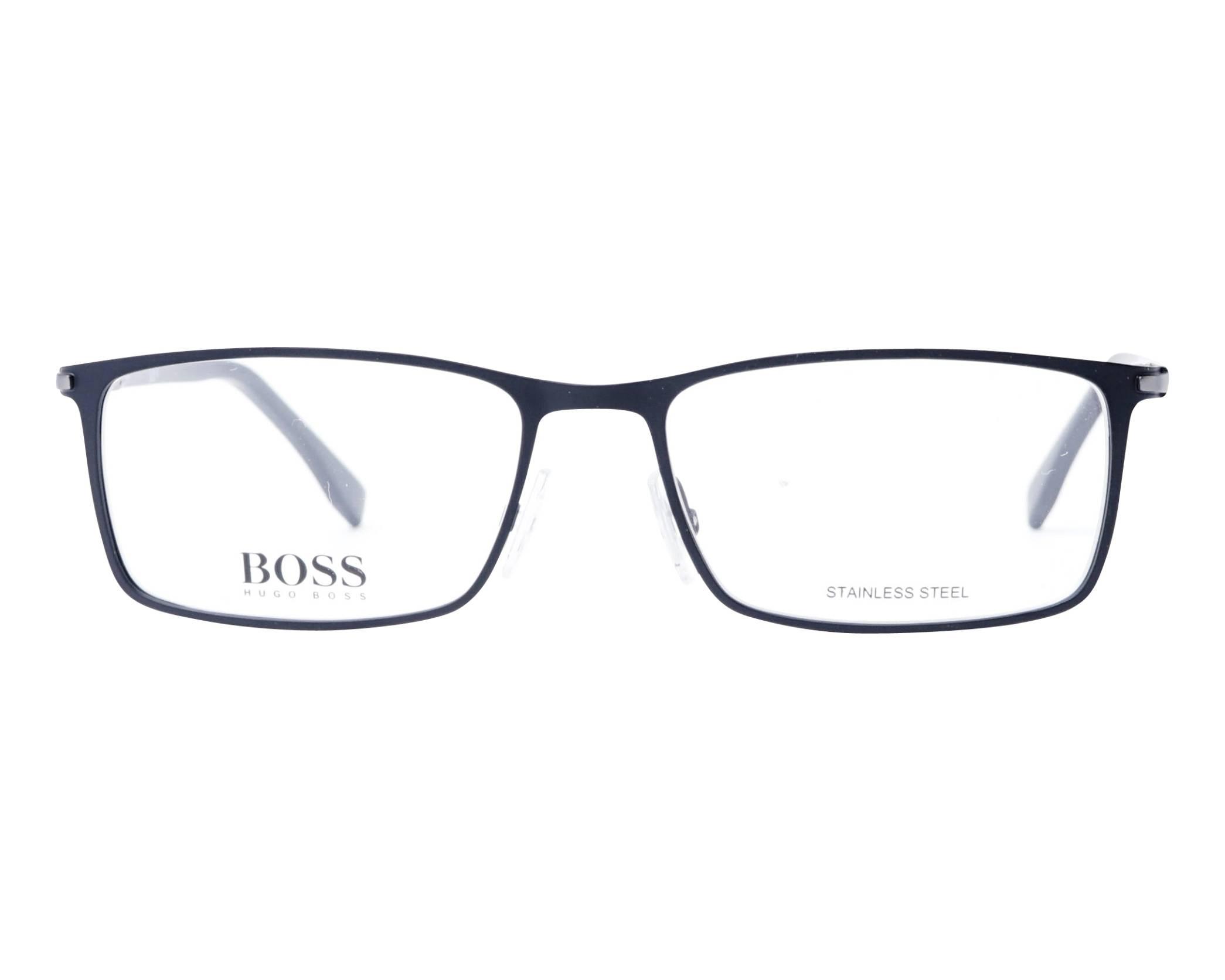 ecfa40c05498 eyeglasses Hugo Boss BOSS-1006 003 57-17 Black front view