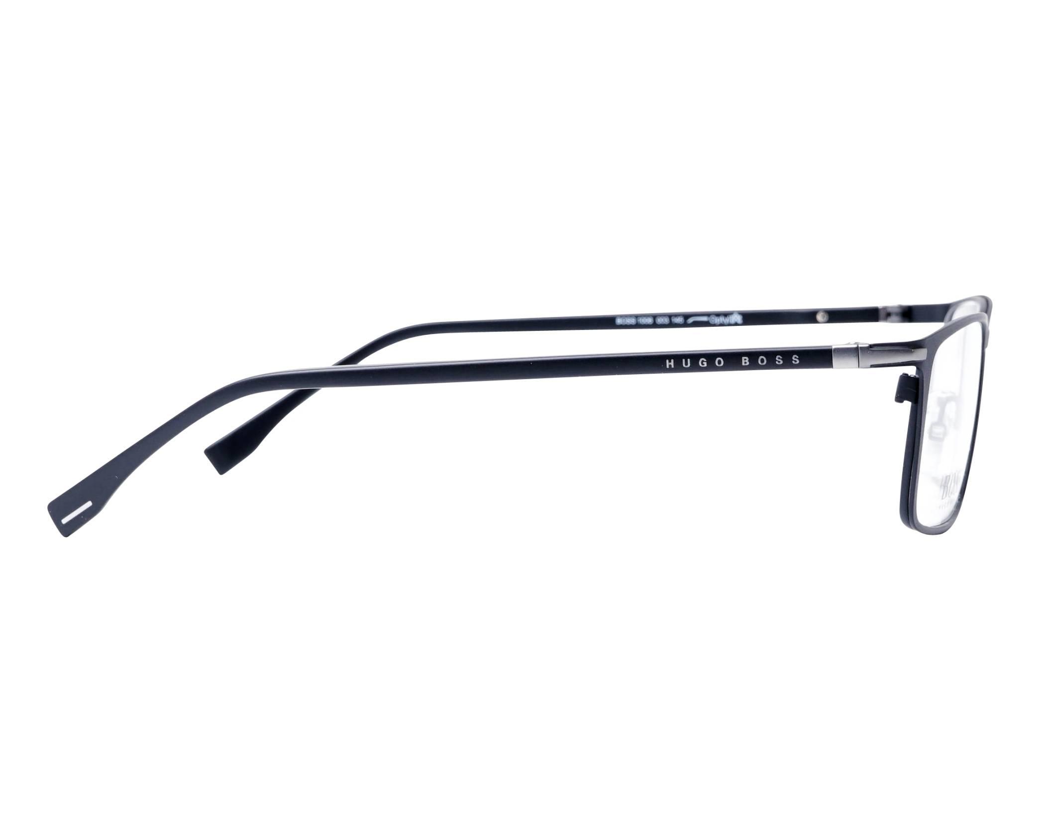 20609703f26b eyeglasses Hugo Boss BOSS-1006 003 57-17 Black side view