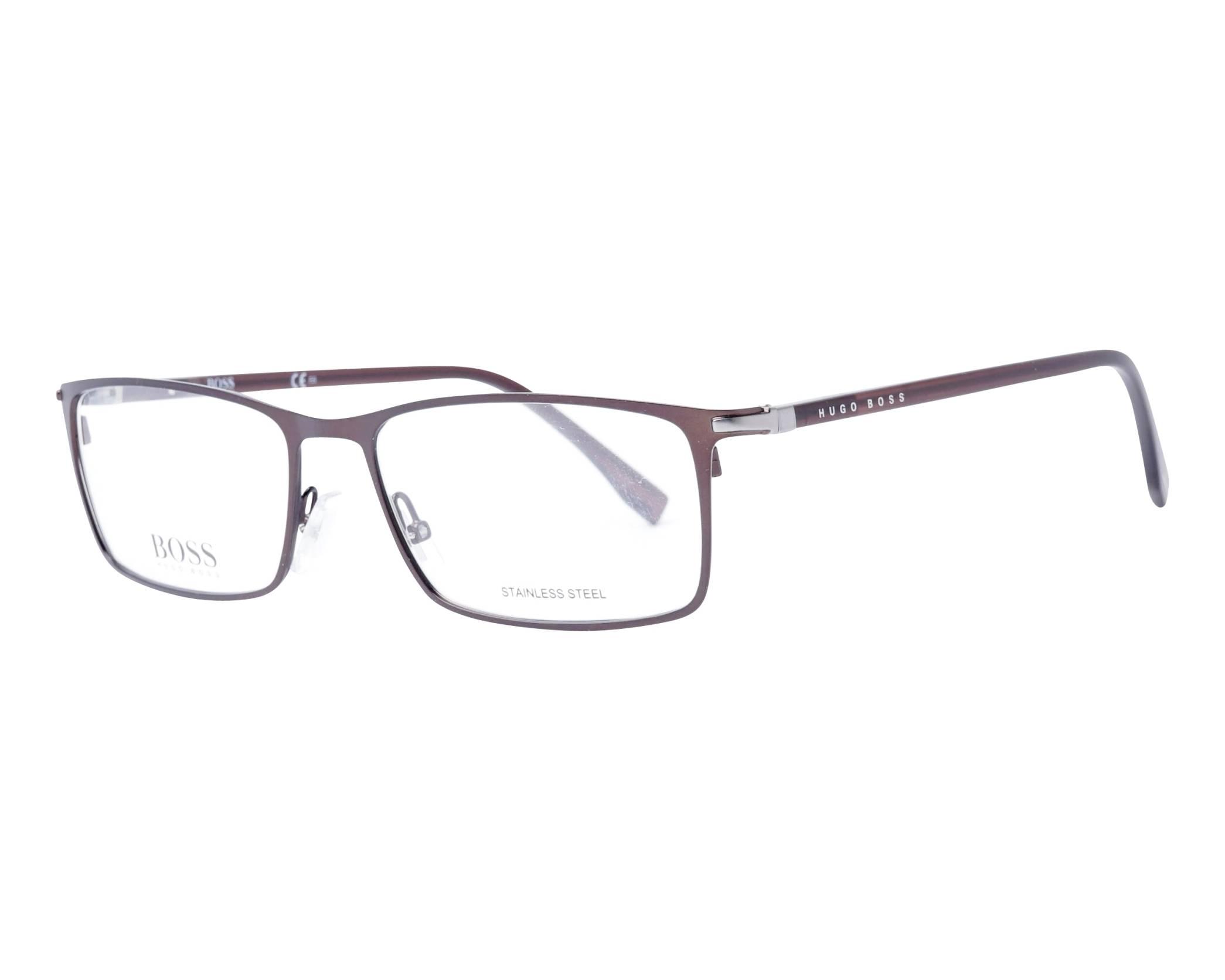 4acd8fcc0983 eyeglasses Hugo Boss BOSS-1006 4IN 57-17 Brown profile view