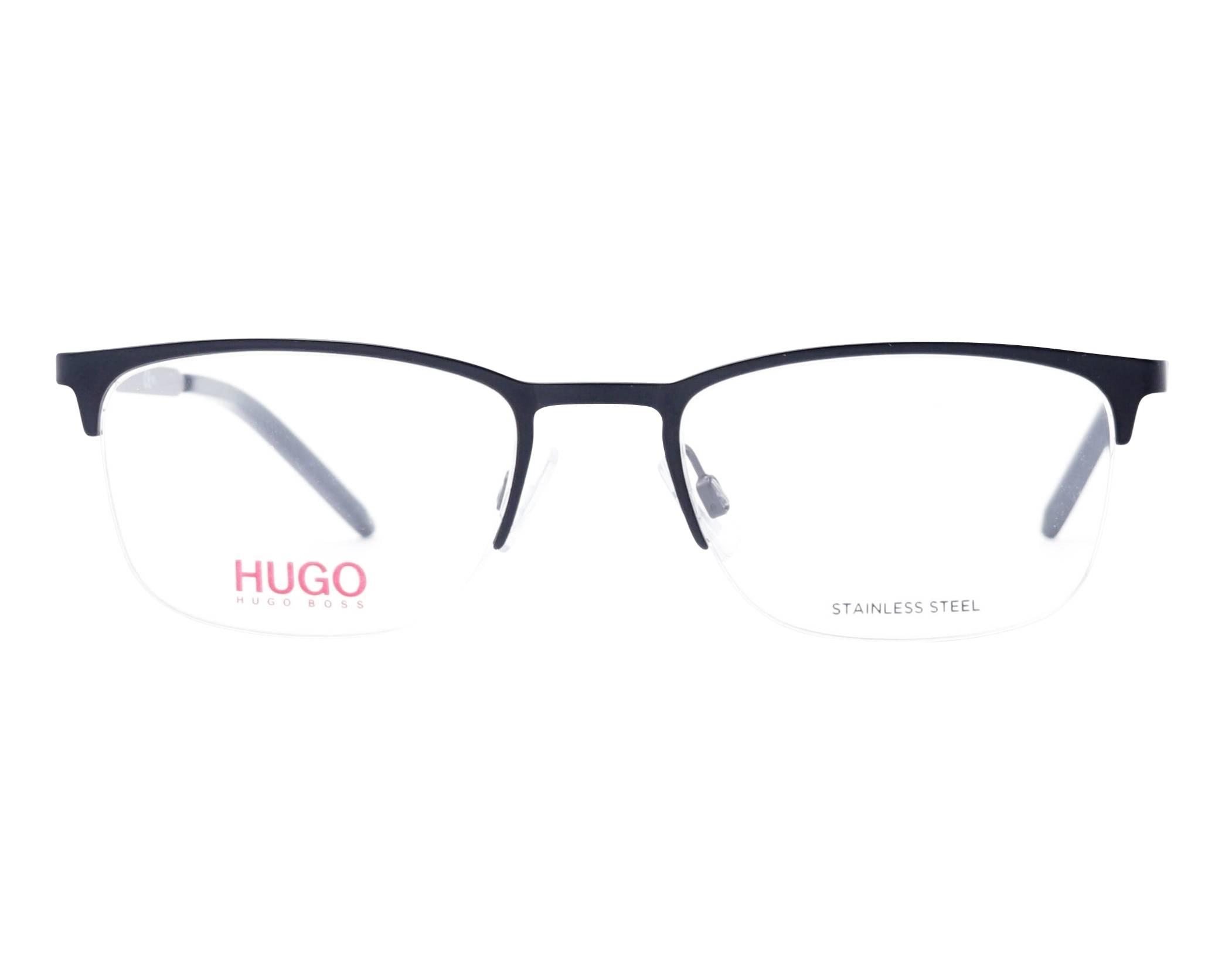 f8ff9eadfc36 eyeglasses Hugo Boss HG-1019 003 53-20 Black front view