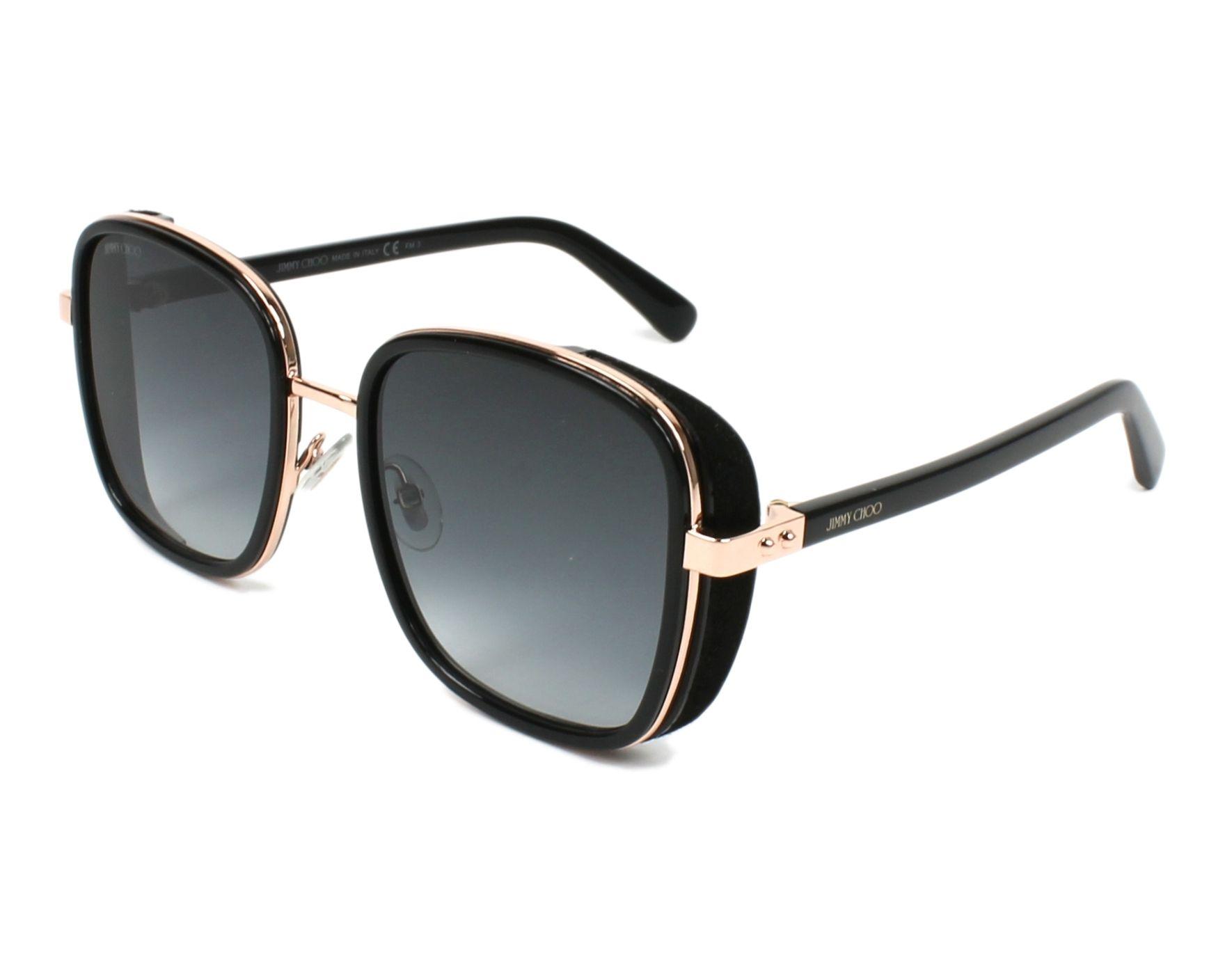 01ff613f2e8d Sunglasses Jimmy Choo ELVA-S 2M2 90 54-20 Black Gold Copper profile