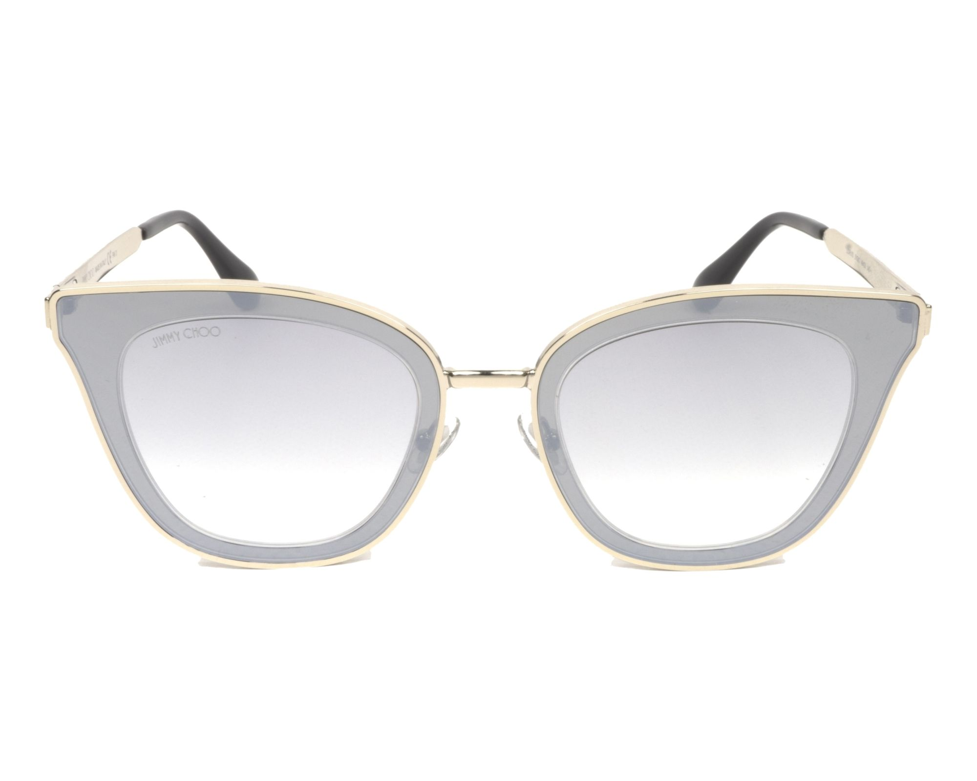 980a56f29f0d Sunglasses Jimmy Choo LORY-S 3YG/IC 49-23 Silver Silver front view