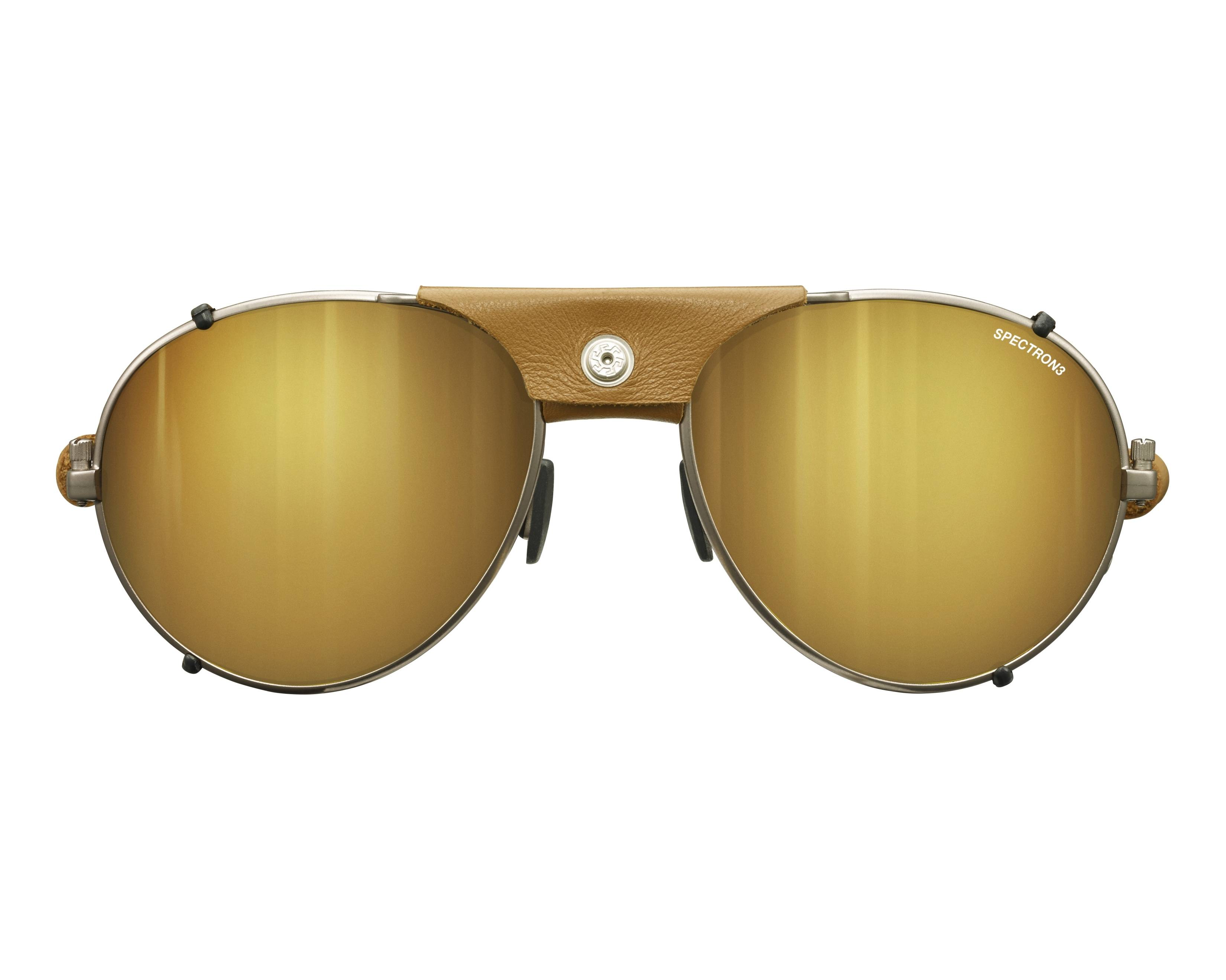 0ebb1e76db Sunglasses Julbo J020 1150 58-19 Gun Brown front view
