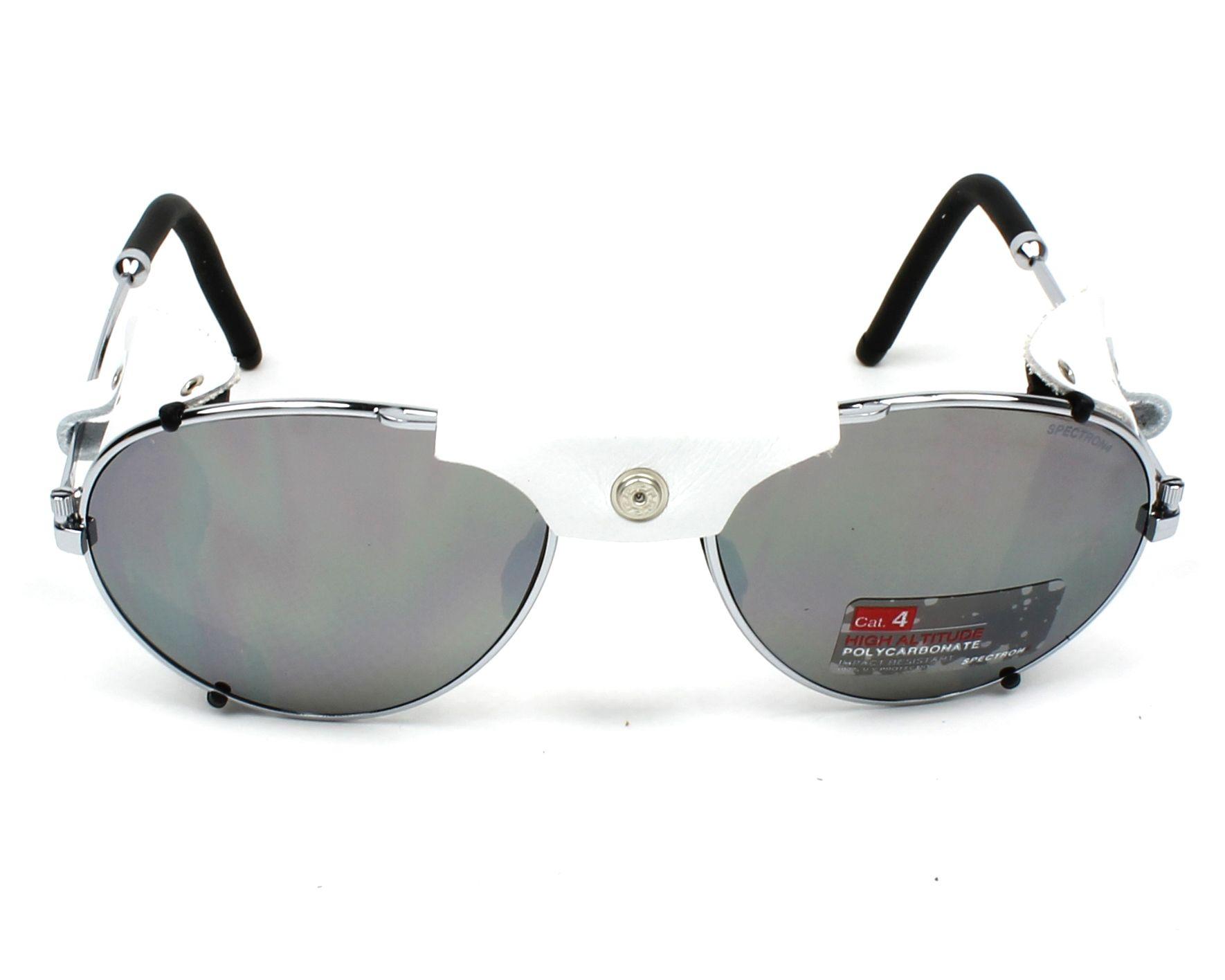 a7fbd8b8c3 Sunglasses Julbo J020 1221 58-19 Gun White front view