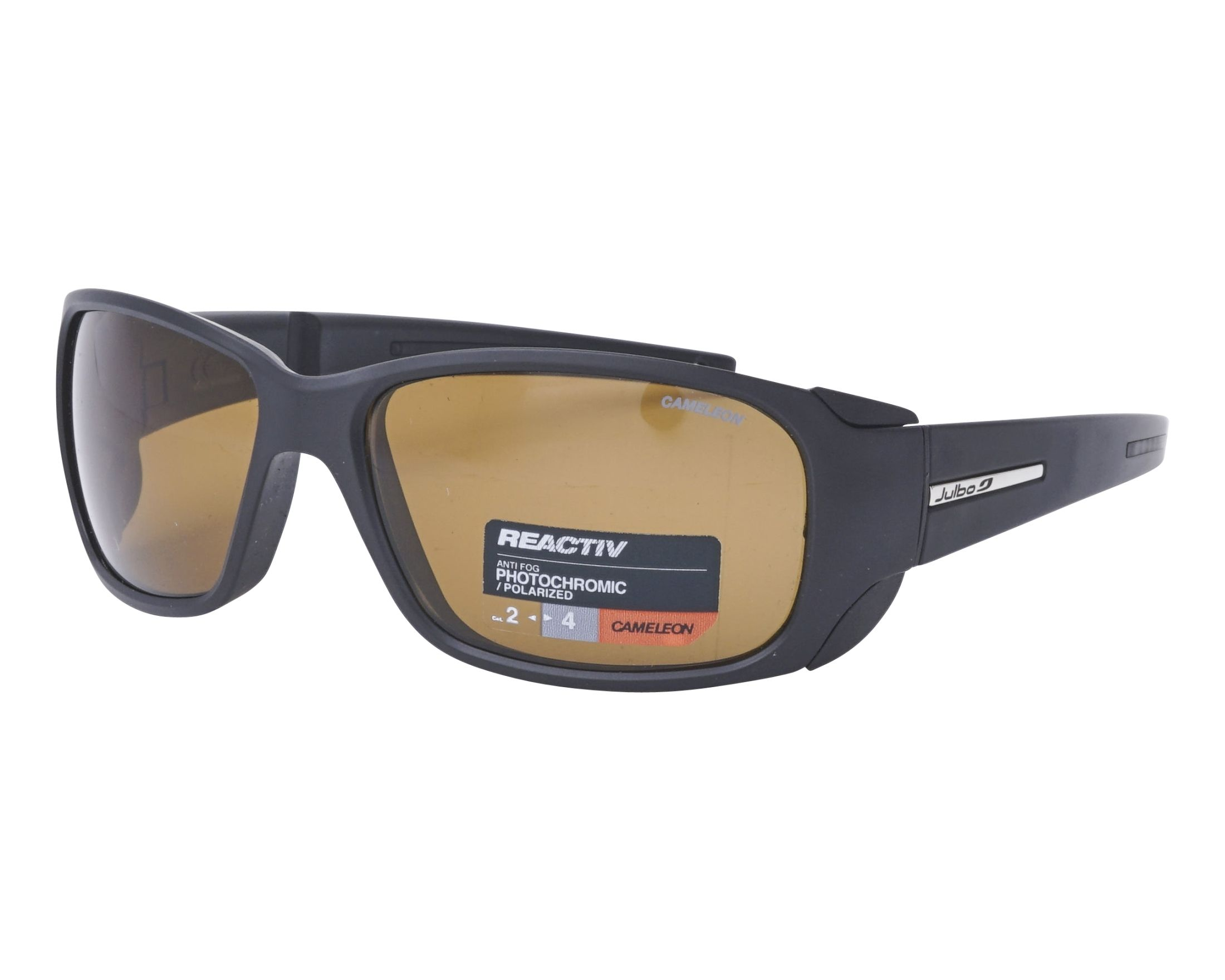 0e6b91fab1 Sunglasses Julbo J401 5014 58-15 Black profile view