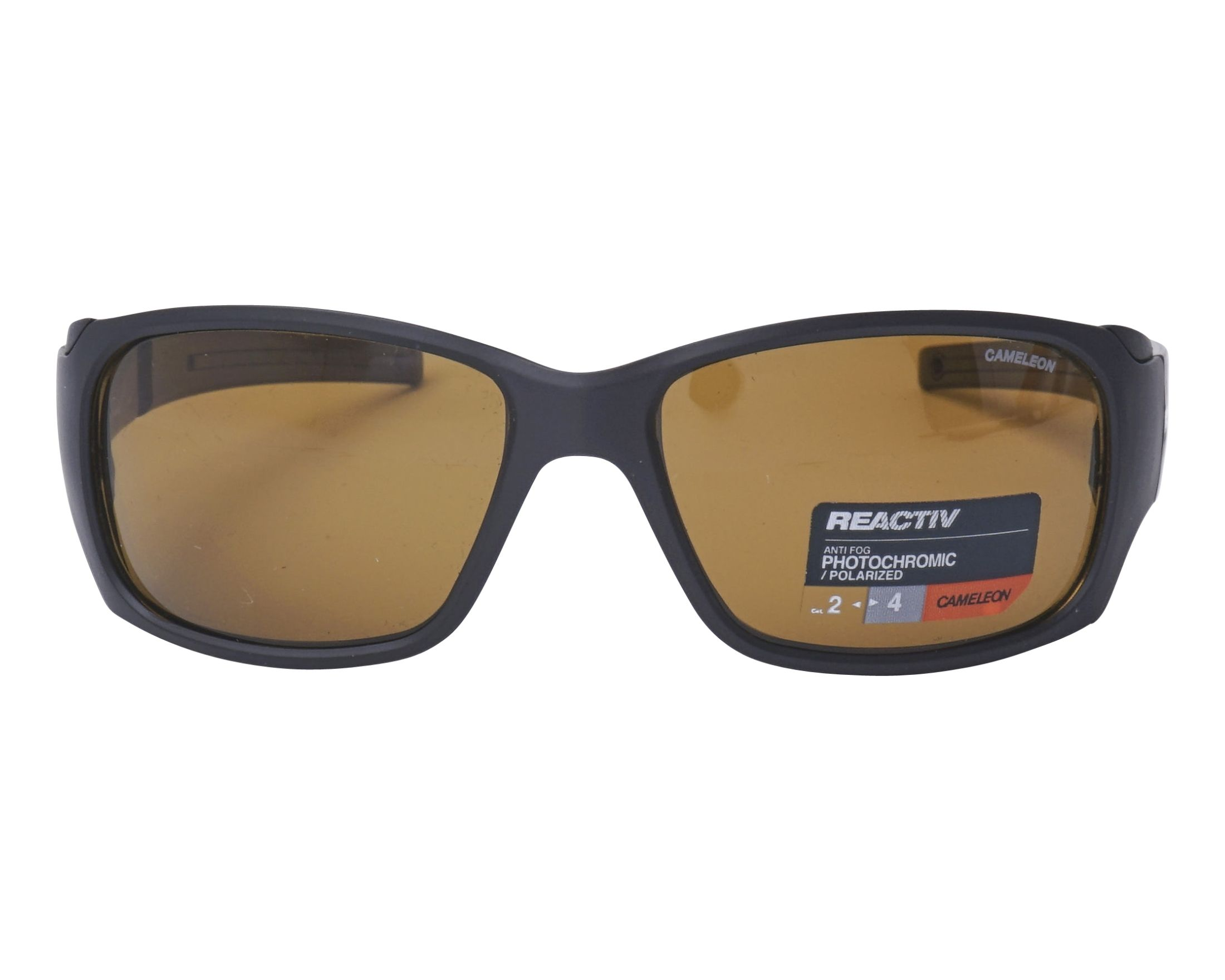 1ed9c05a5d Sunglasses Julbo J401 5014 58-15 Black front view