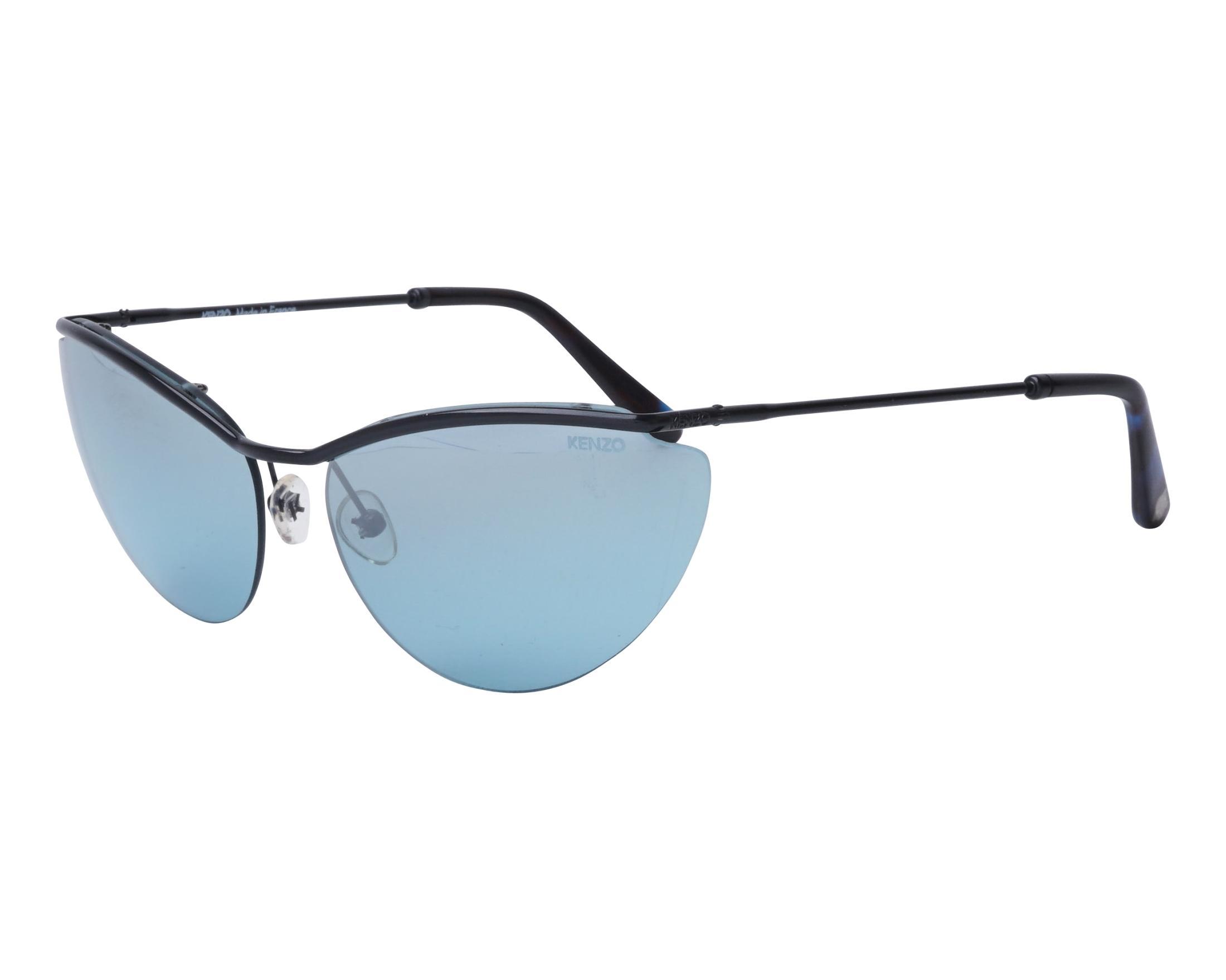 5921b49cae9 Sunglasses Kenzo KZ-3171 C01 61-16 Black profile view