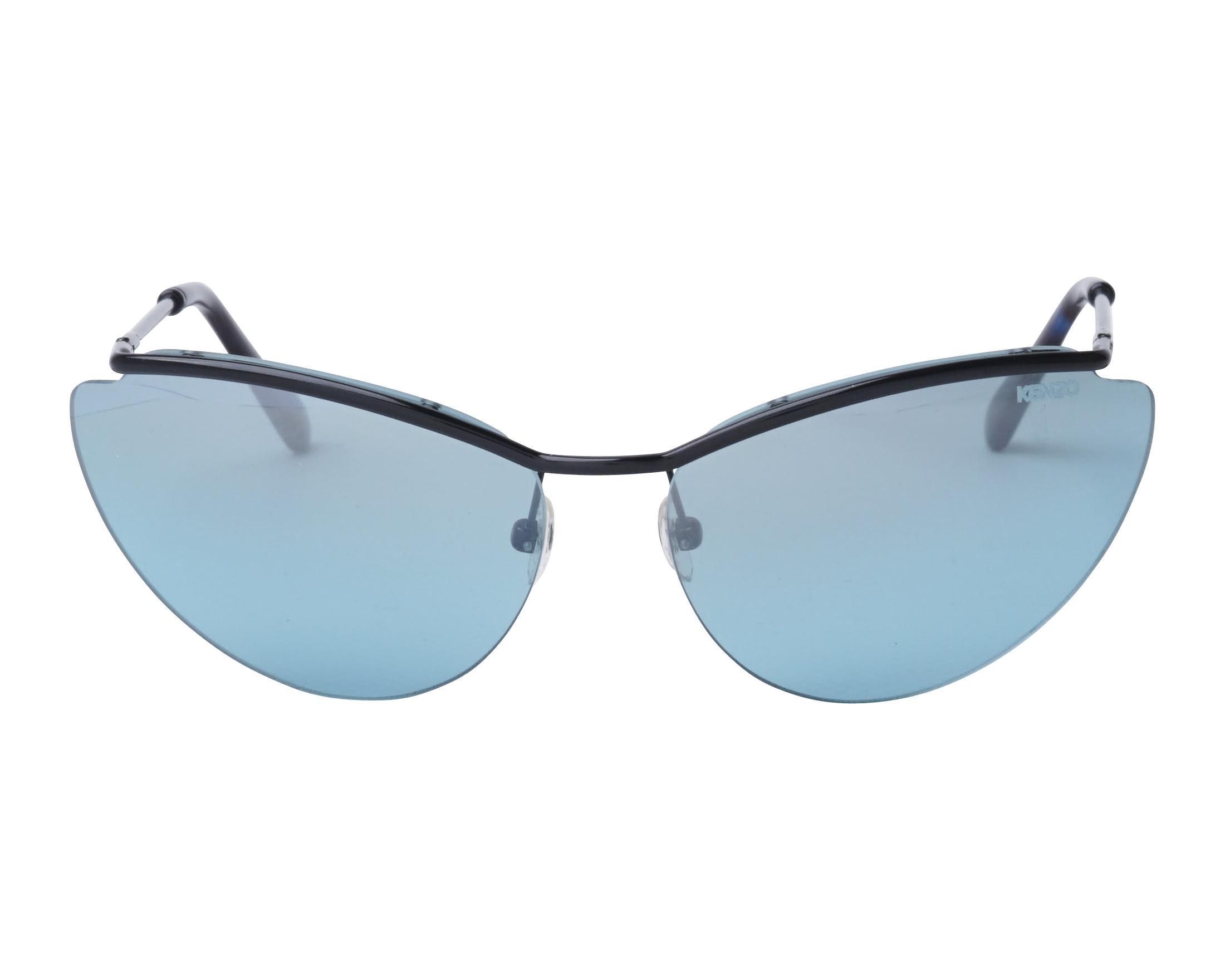 303320b3979 Sunglasses Kenzo KZ-3171 C01 61-16 Black front view