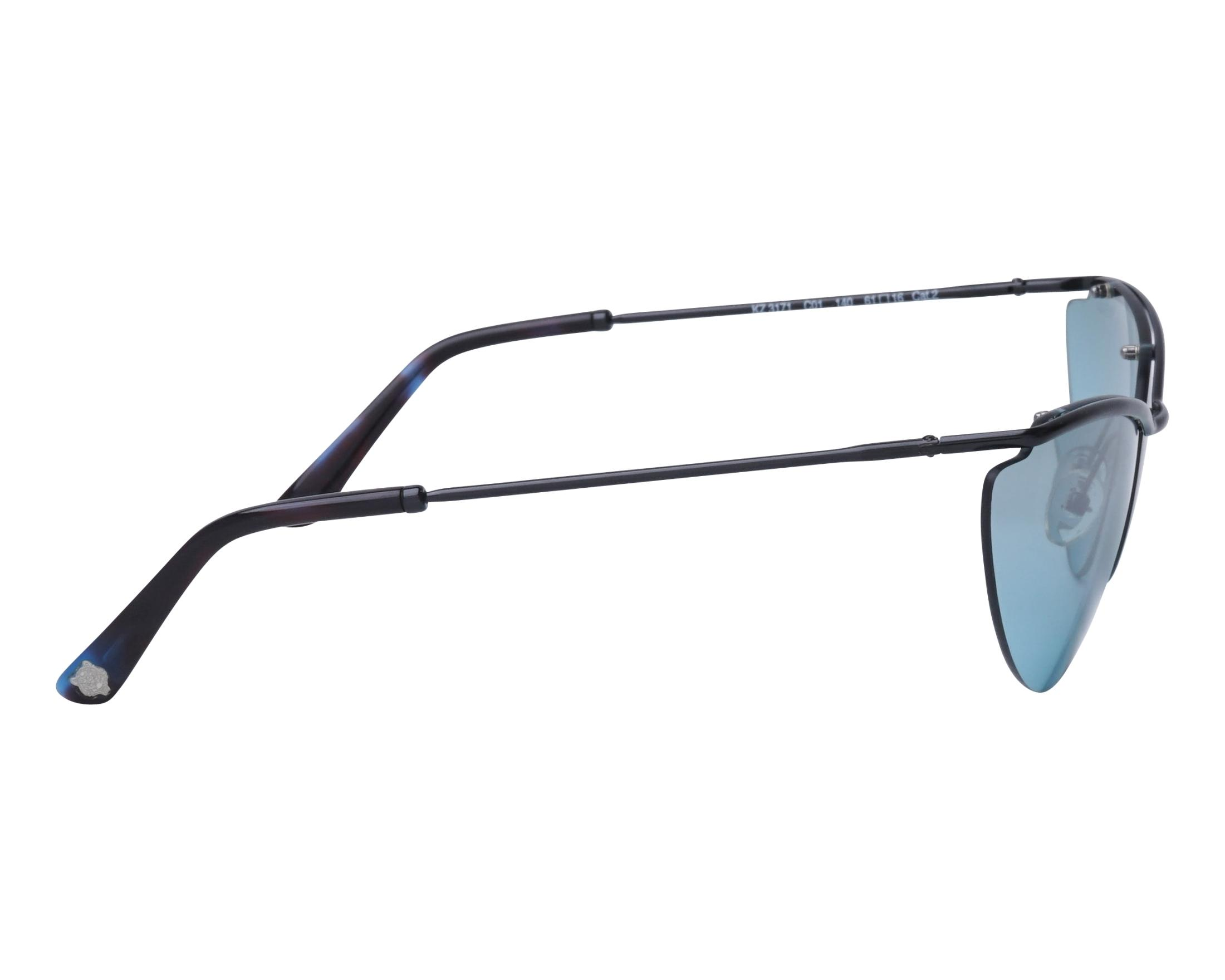 2d5374b0bc3 Sunglasses Kenzo KZ-3171 C01 61-16 Black side view