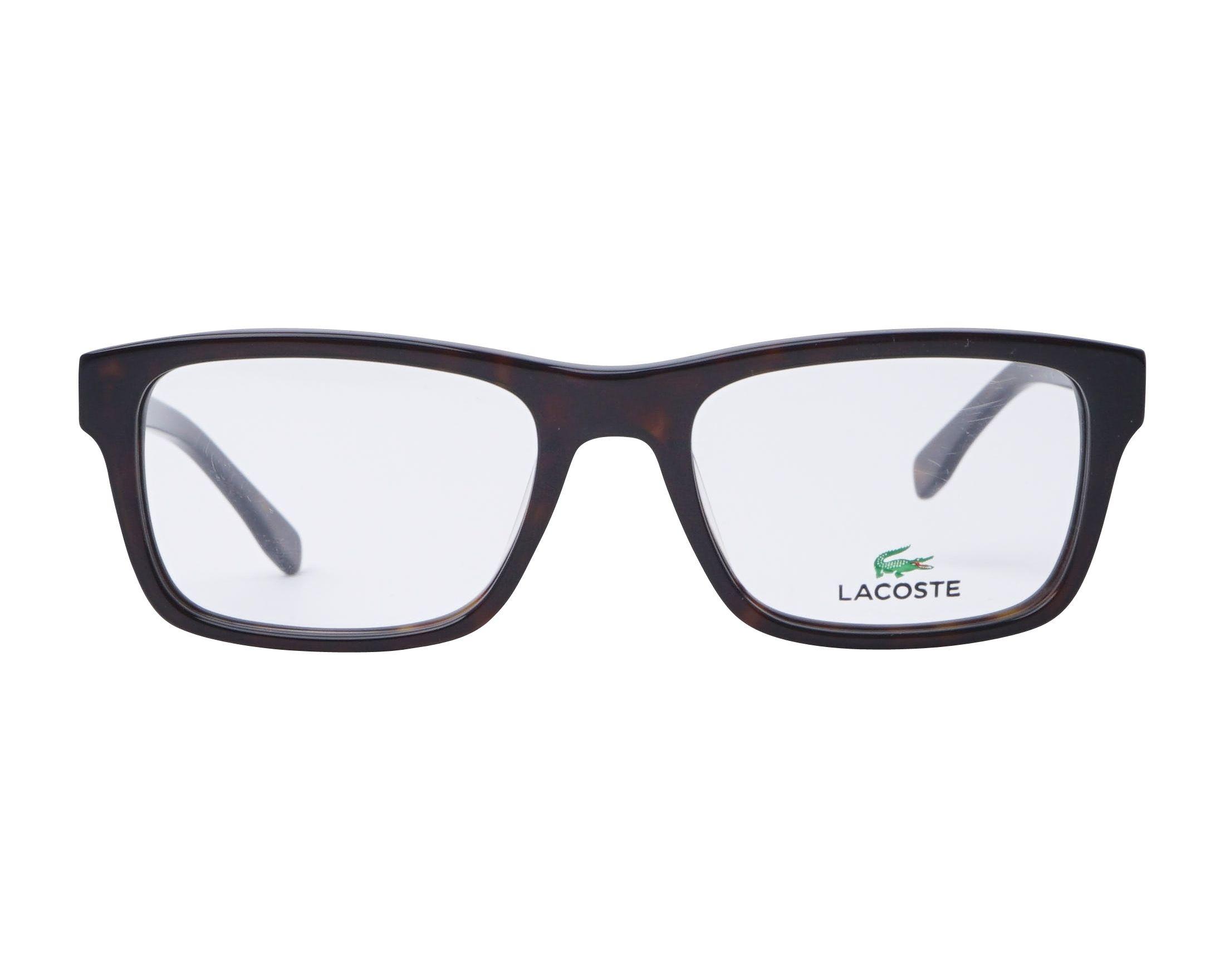 5c2401fe5f eyeglasses Lacoste L-2740 214 53-19 Havana front view