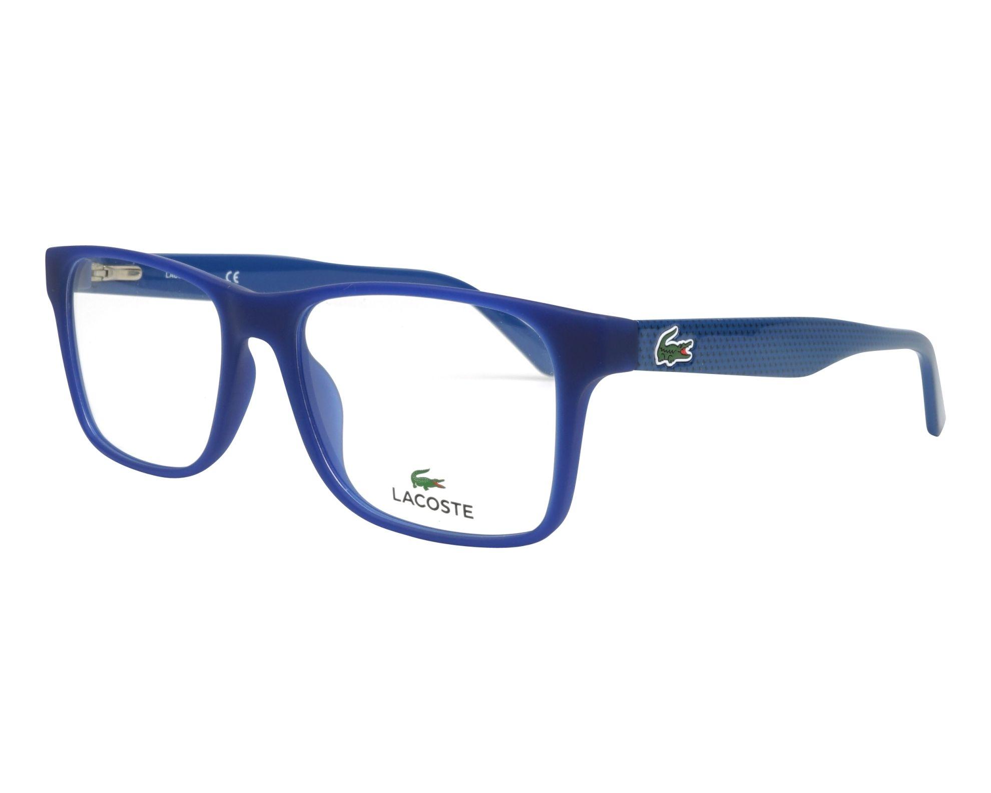 9df375c6c8 eyeglasses Lacoste L-2741 414 53-17 Blue Blue profile view