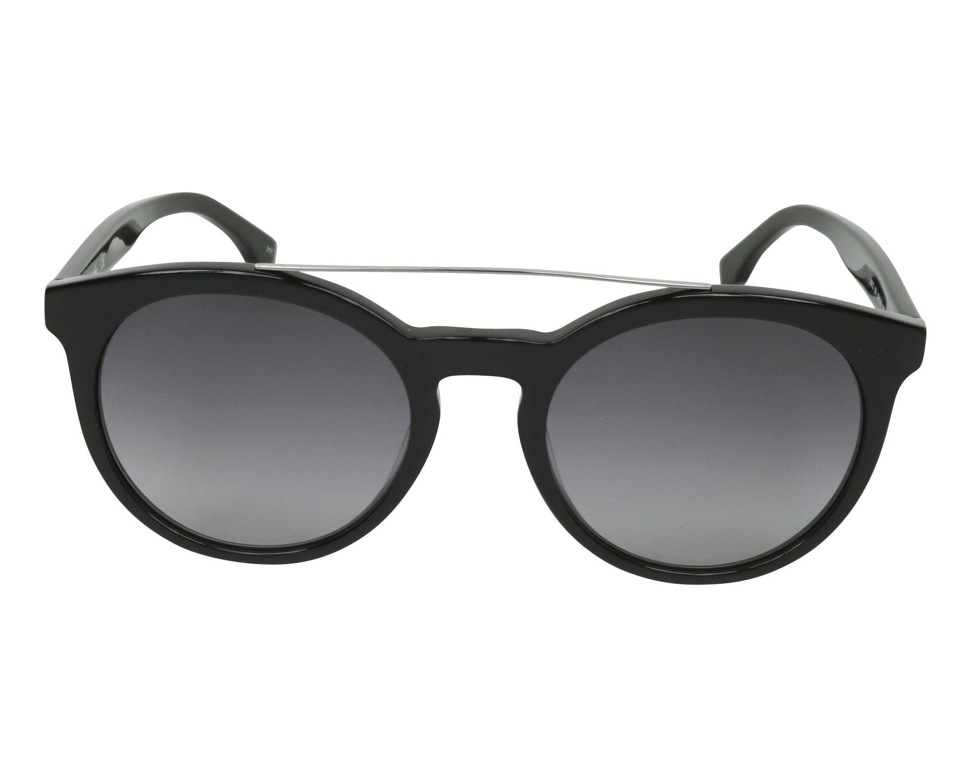 360e0680878e71 Sunglasses Lacoste L-821-S 001 - Black Silver front view
