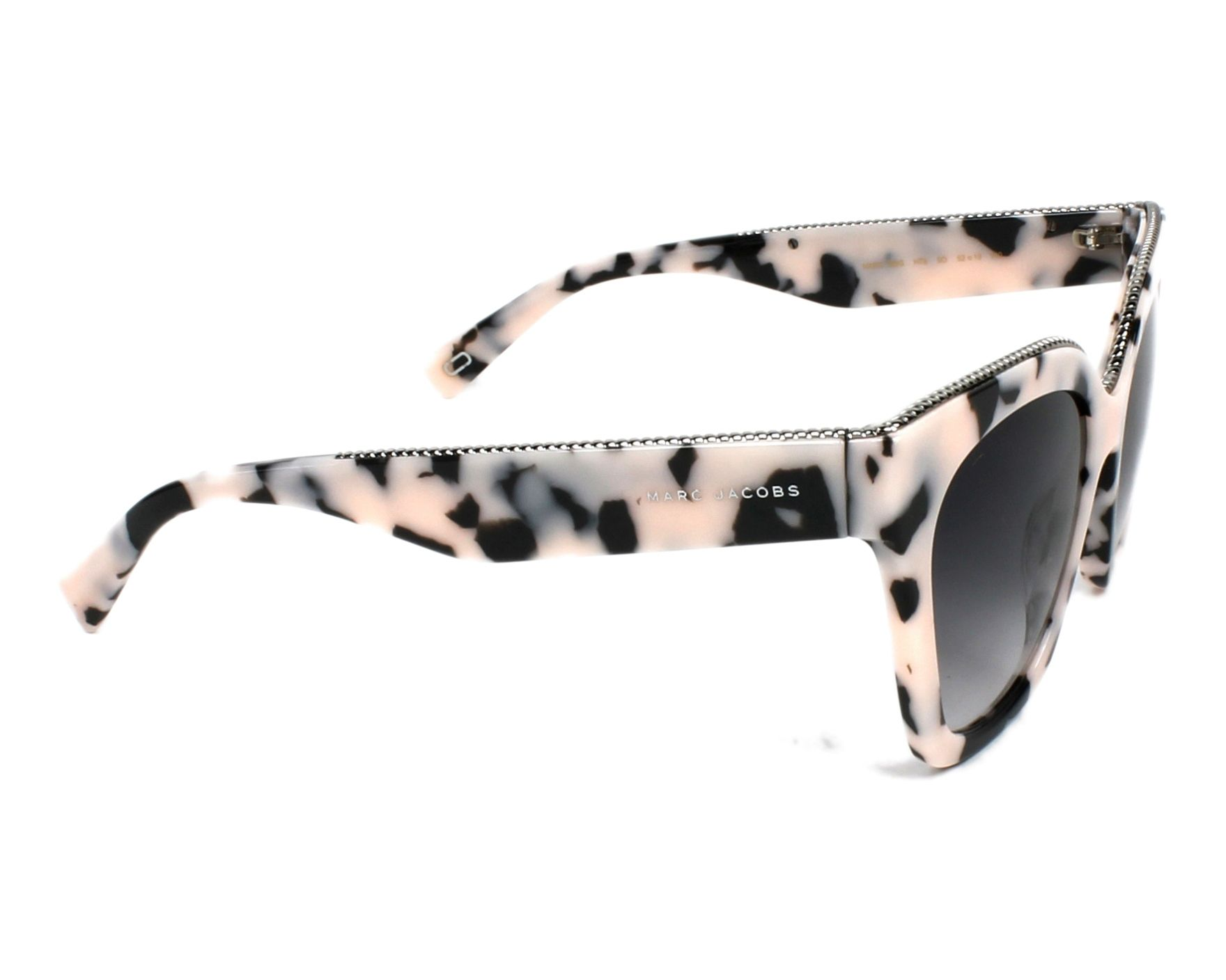 dadaf2fd0dcff Sunglasses Marc Jacobs MARC-162-S HT8 9O - Rosa Silver side view