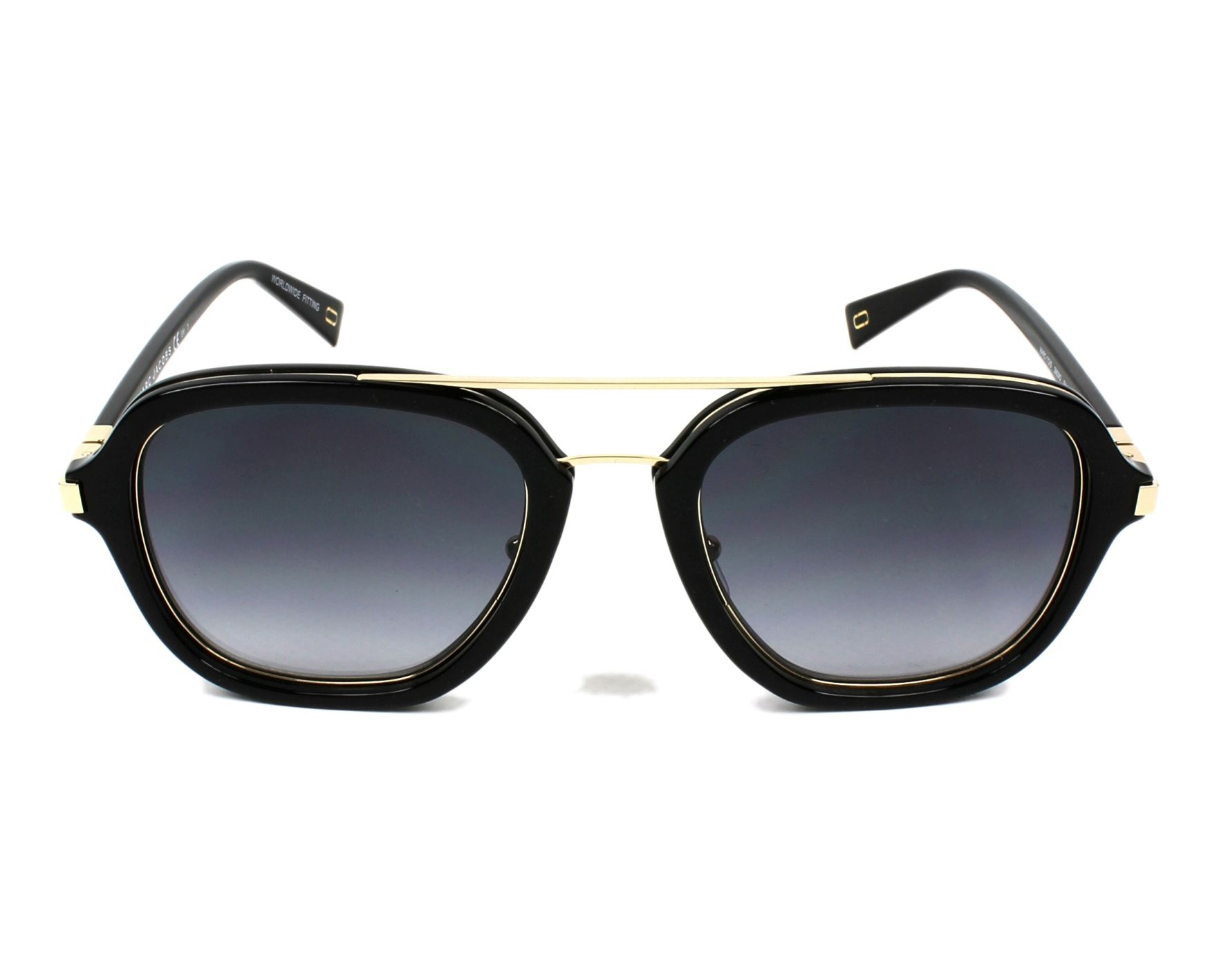 Sunglasses Marc Jacobs MARC-172-S 2M2 9O 54-22 Black Gold ae586d9b9e37