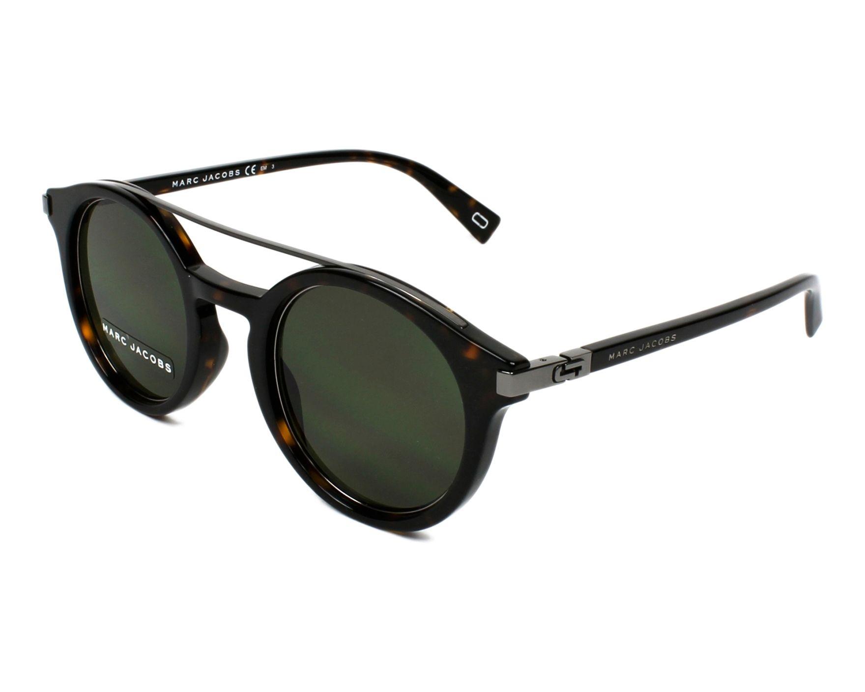 3f6dcf39da164f Sunglasses Marc Jacobs MARC-173-S 086 QT - Havana Gun profile view
