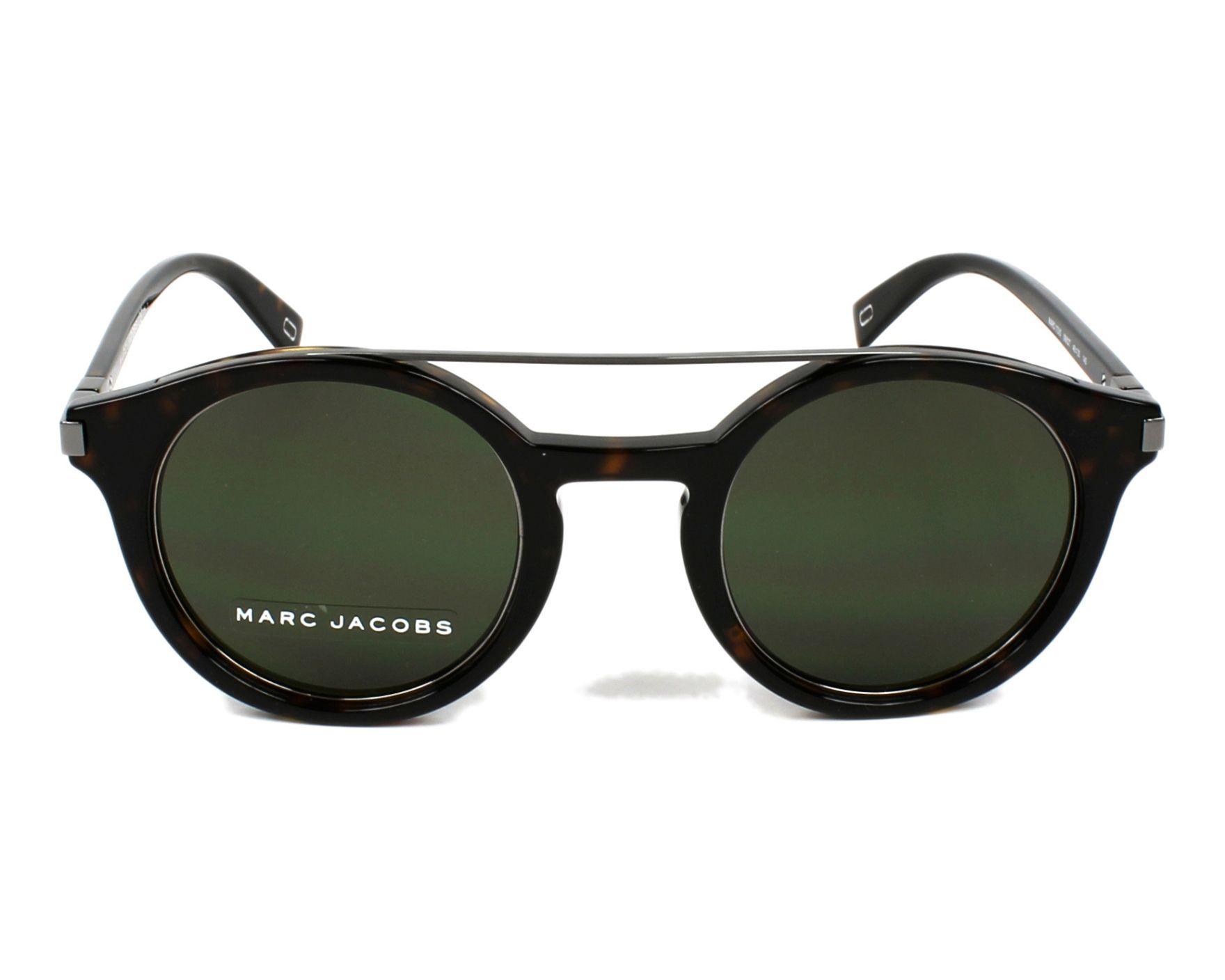 57e6b3d00b9681 Sunglasses Marc Jacobs MARC-173-S 086 QT - Havana Gun front view