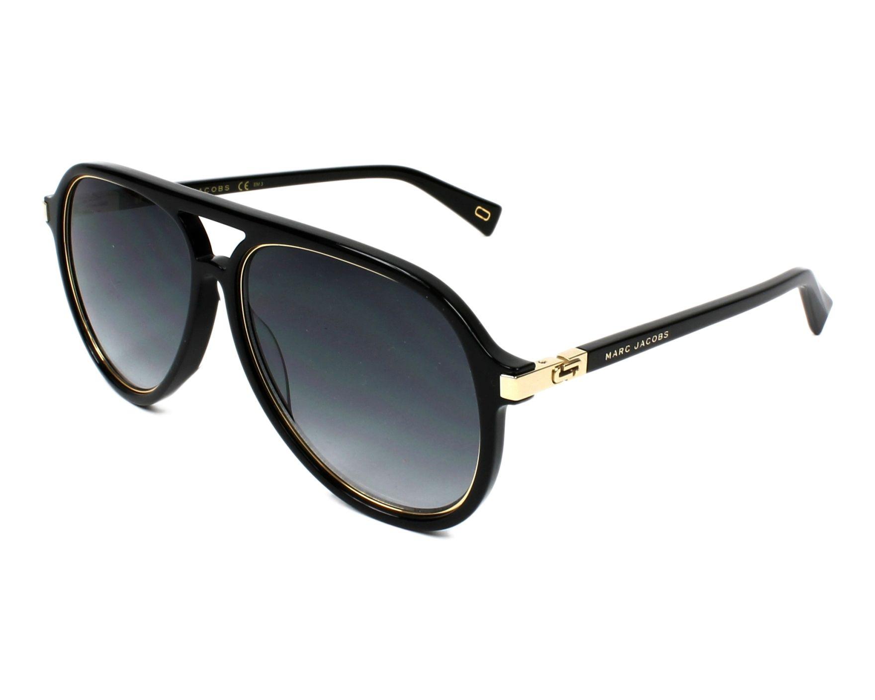 80e31021e1 Sunglasses Marc Jacobs MARC-174-S 2M2 9O 58-14 Black Gold