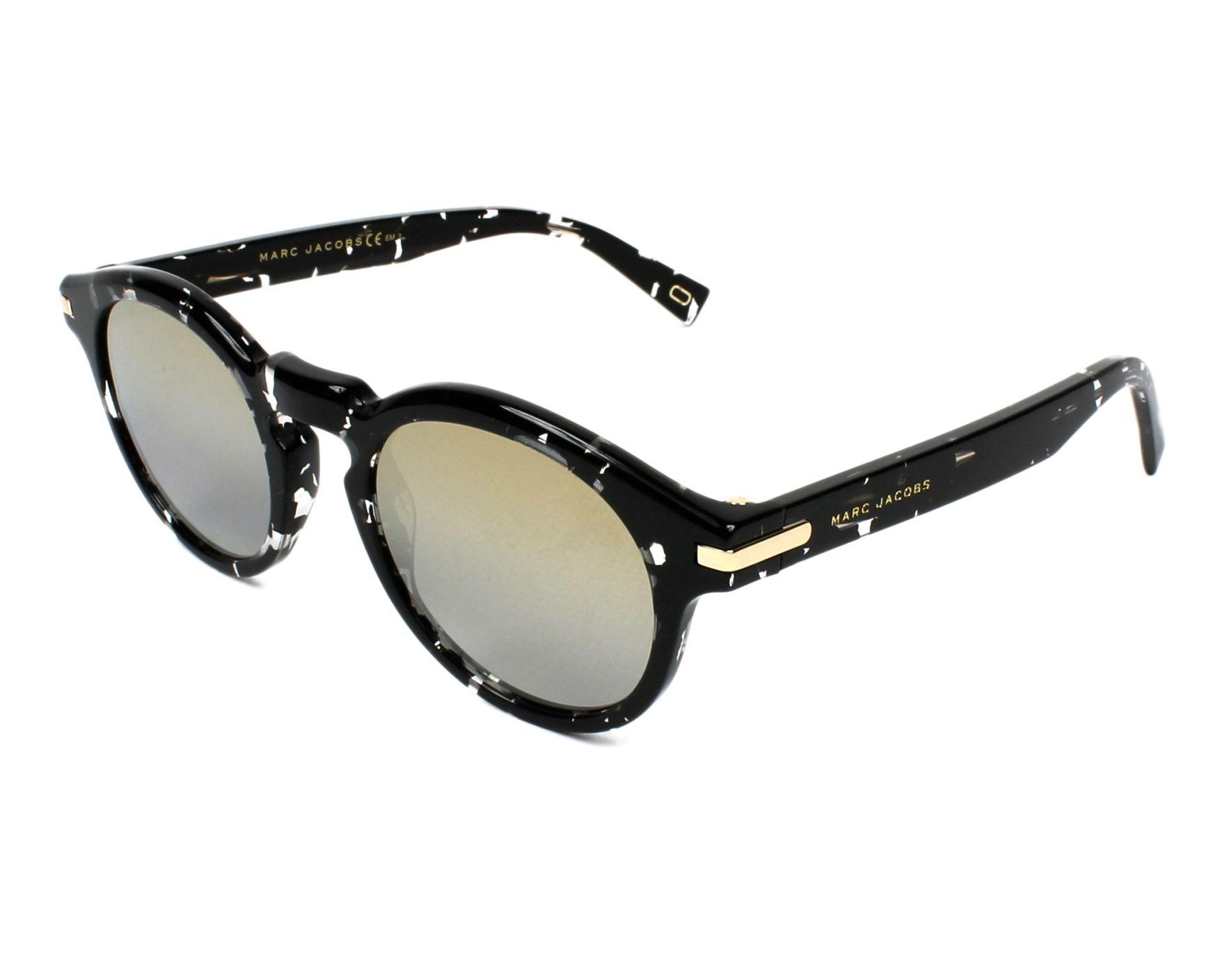 80af4ff1b8e Sunglasses Marc Jacobs MARC-184-S 9WZ 9F 49-22 Black Crystal