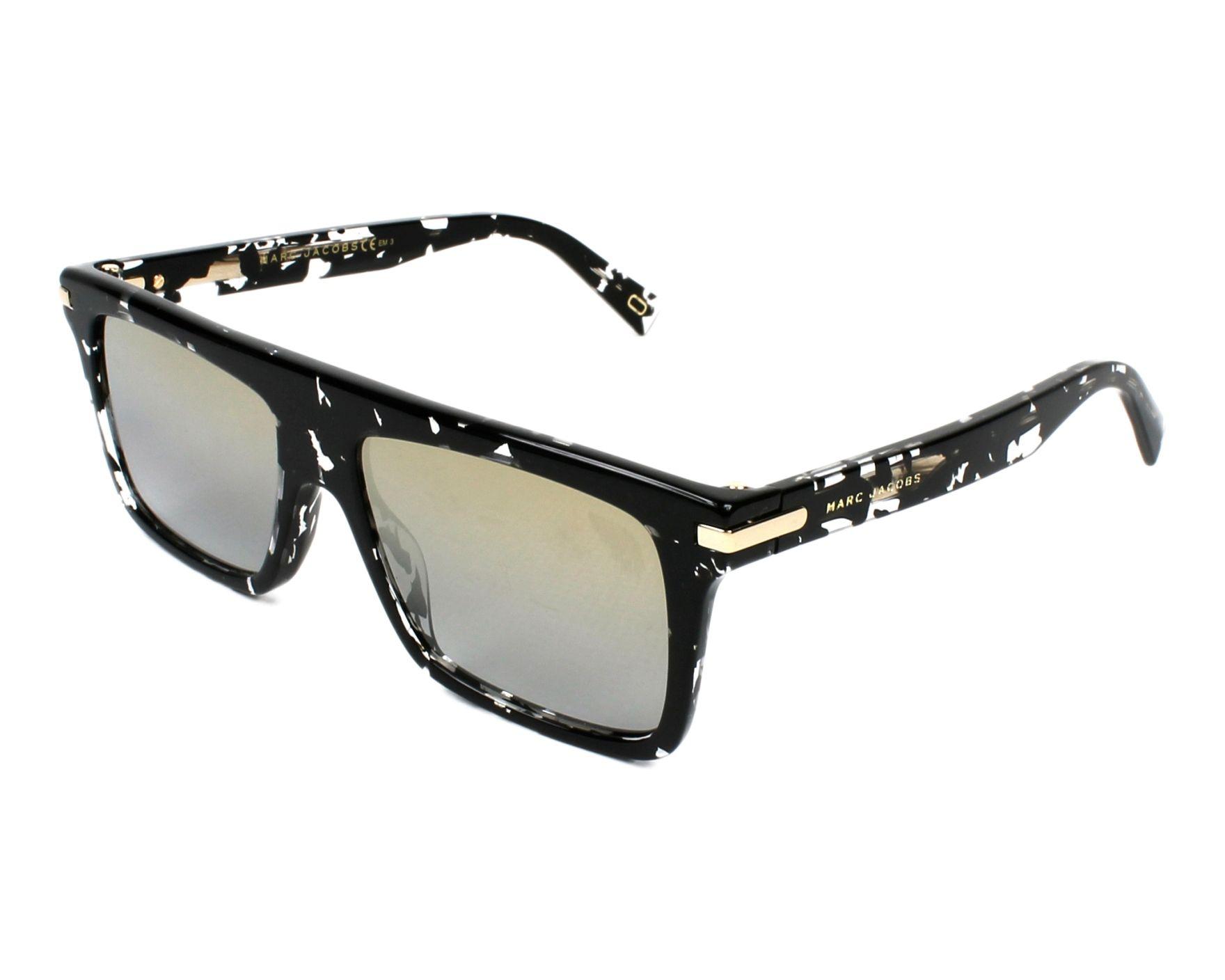 d80f29a750cca Sunglasses Marc Jacobs MARC-186-S 9WZ 9F 54-16 Black Crystal