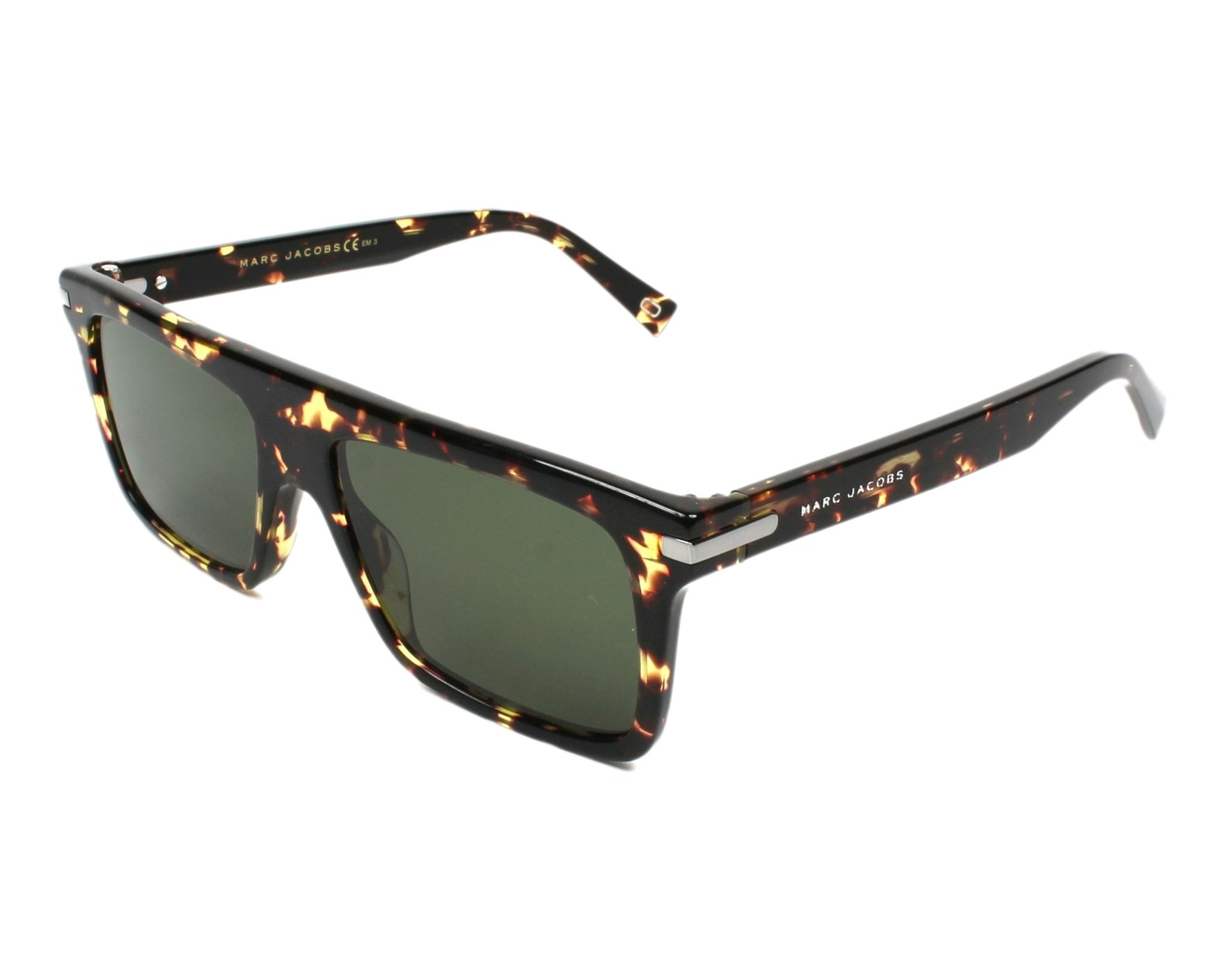 e5b78b2143 thumbnail Sunglasses Marc Jacobs MARC-186-S LWP QT - Havana profile view