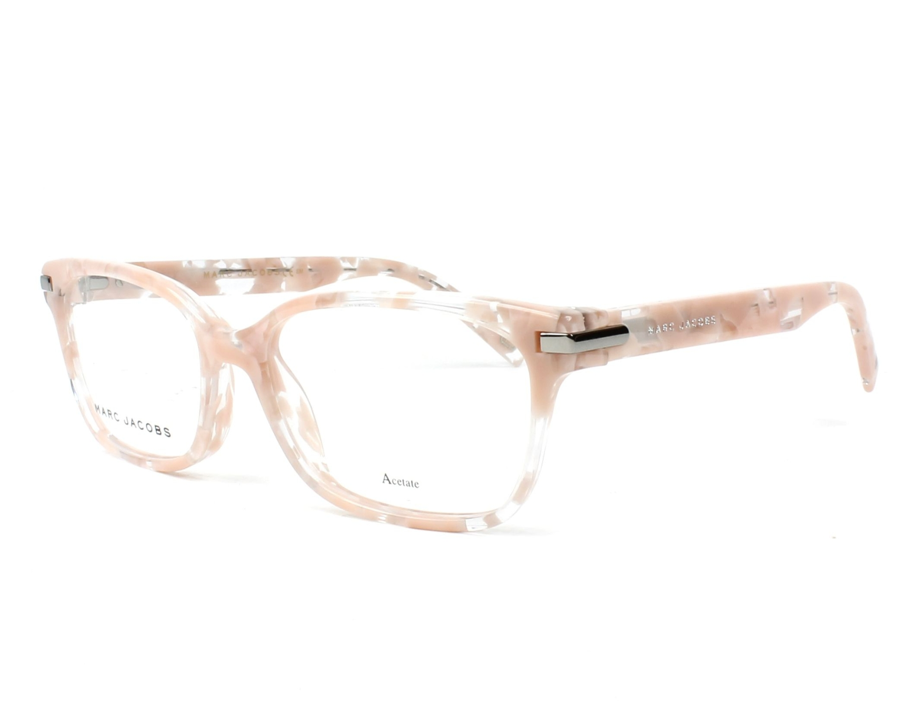 8453755c95d eyeglasses Marc Jacobs MARC-190 HT8 53-16 Rosa Crystal profile view