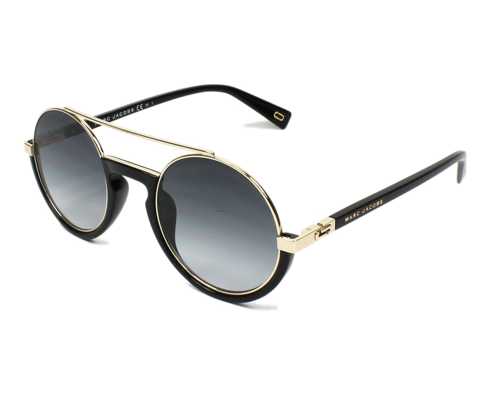 Sunglasses Marc Jacobs MARC-217-S 2M2/9O 50-25 Black Gold