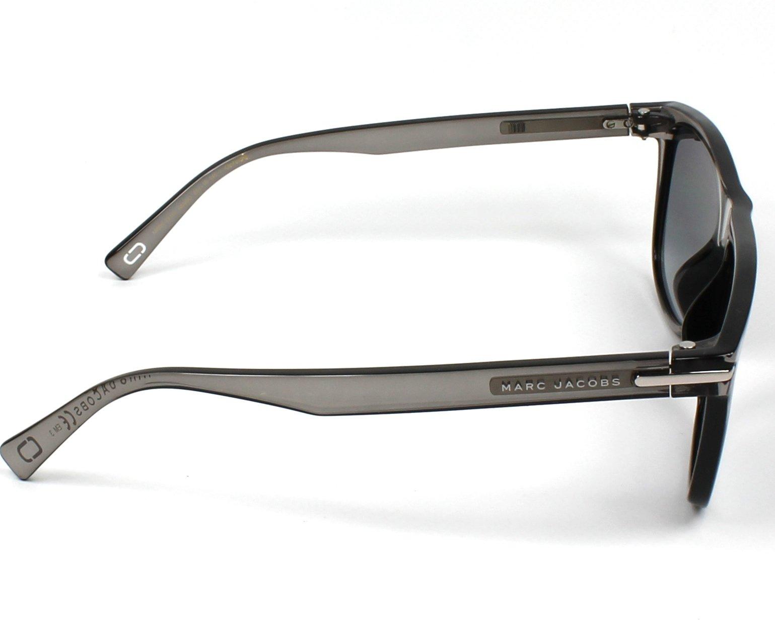 Sunglasses Marc Jacobs MARC-221-S R6S 9O 55-18 Grey side 40ef8b6f84a2