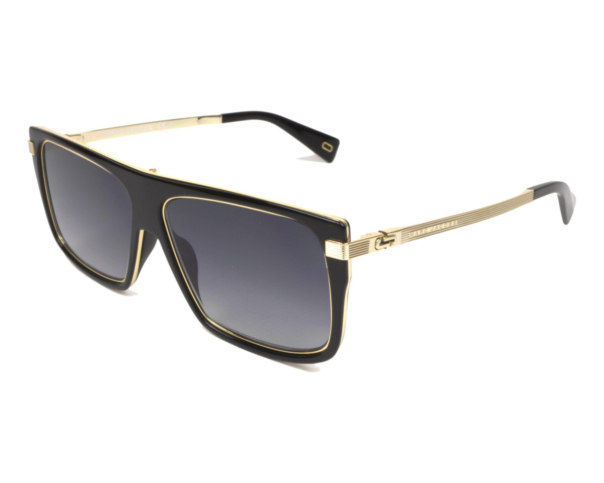 a2bdebe7846 Sunglasses Marc Jacobs MARC-242-S 2M2 9O 59-14 Black Gold