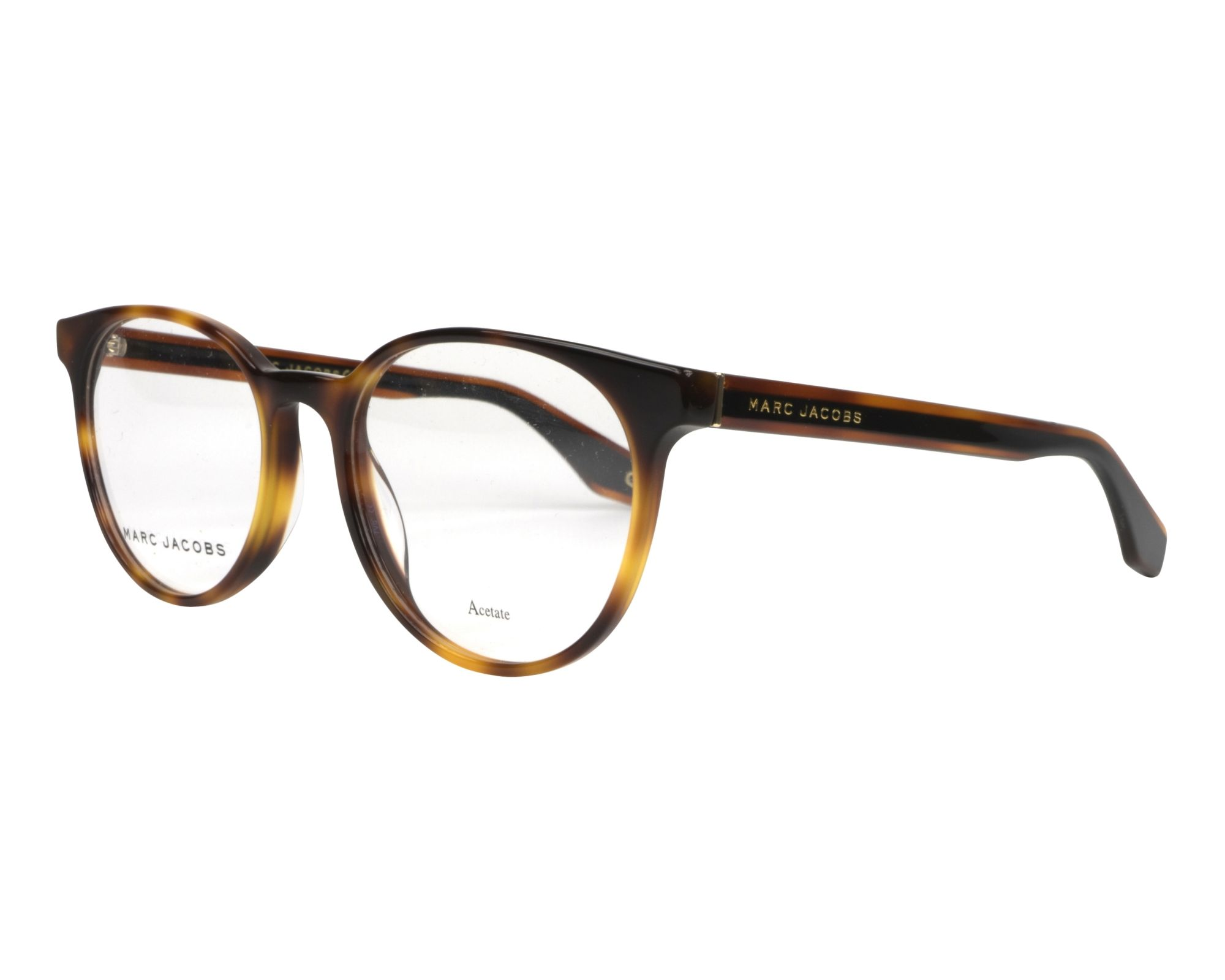 007d41ebf4 eyeglasses Marc Jacobs MARC-283 086 52-18 Havana Brown profile view